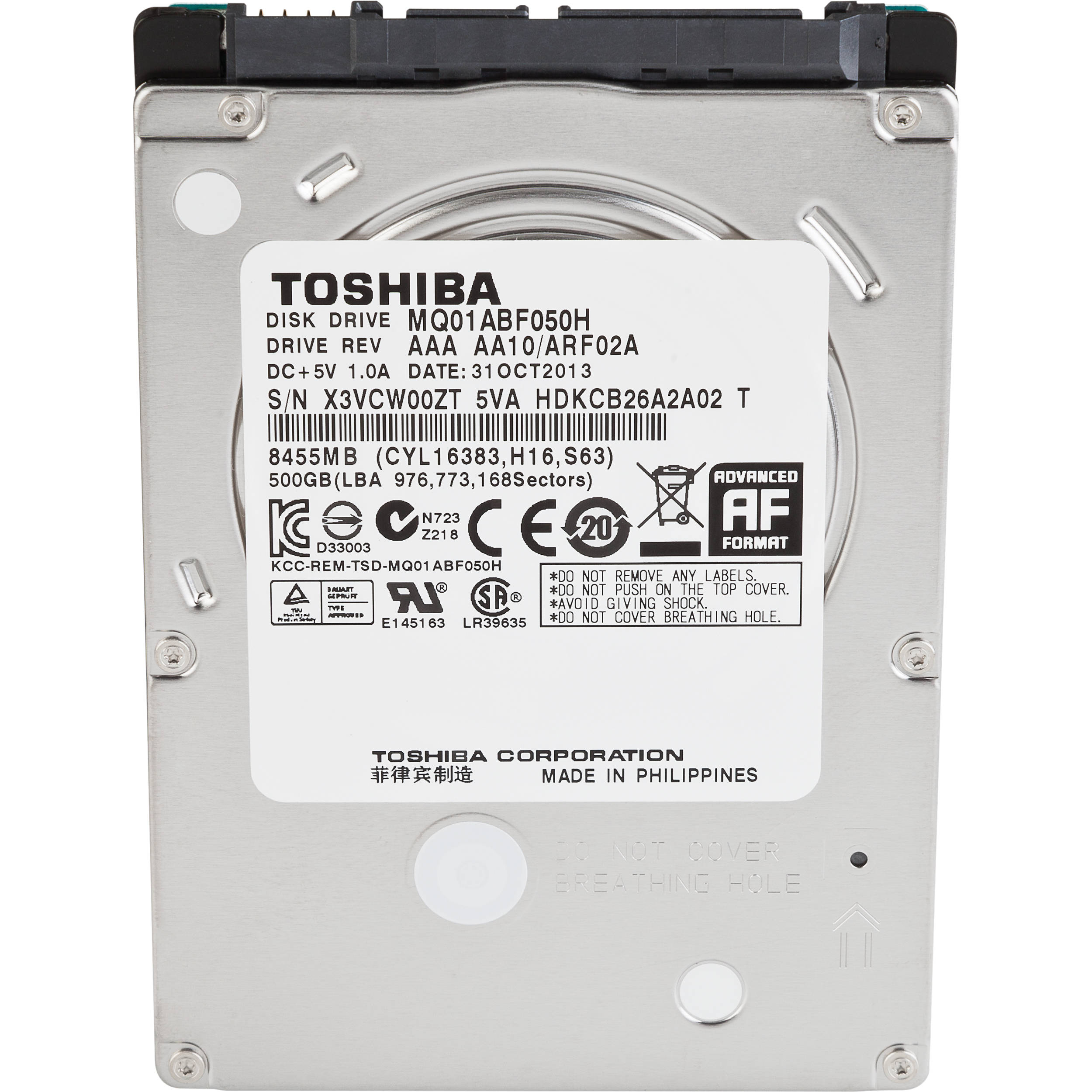 Toshiba 500gb 2 5 Internal Solid State Ph2050u 1shd