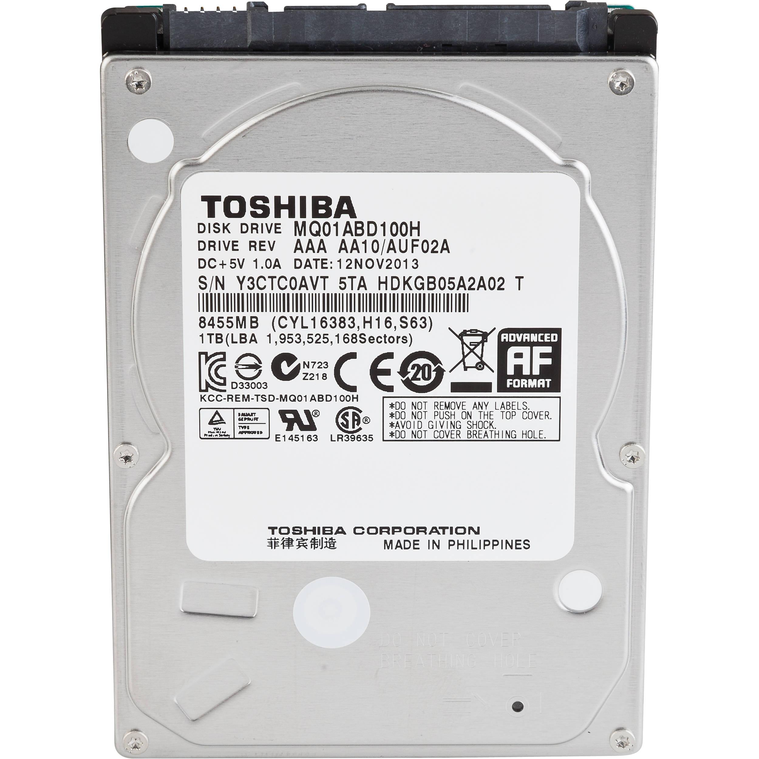 Toshiba 1TB 2 5