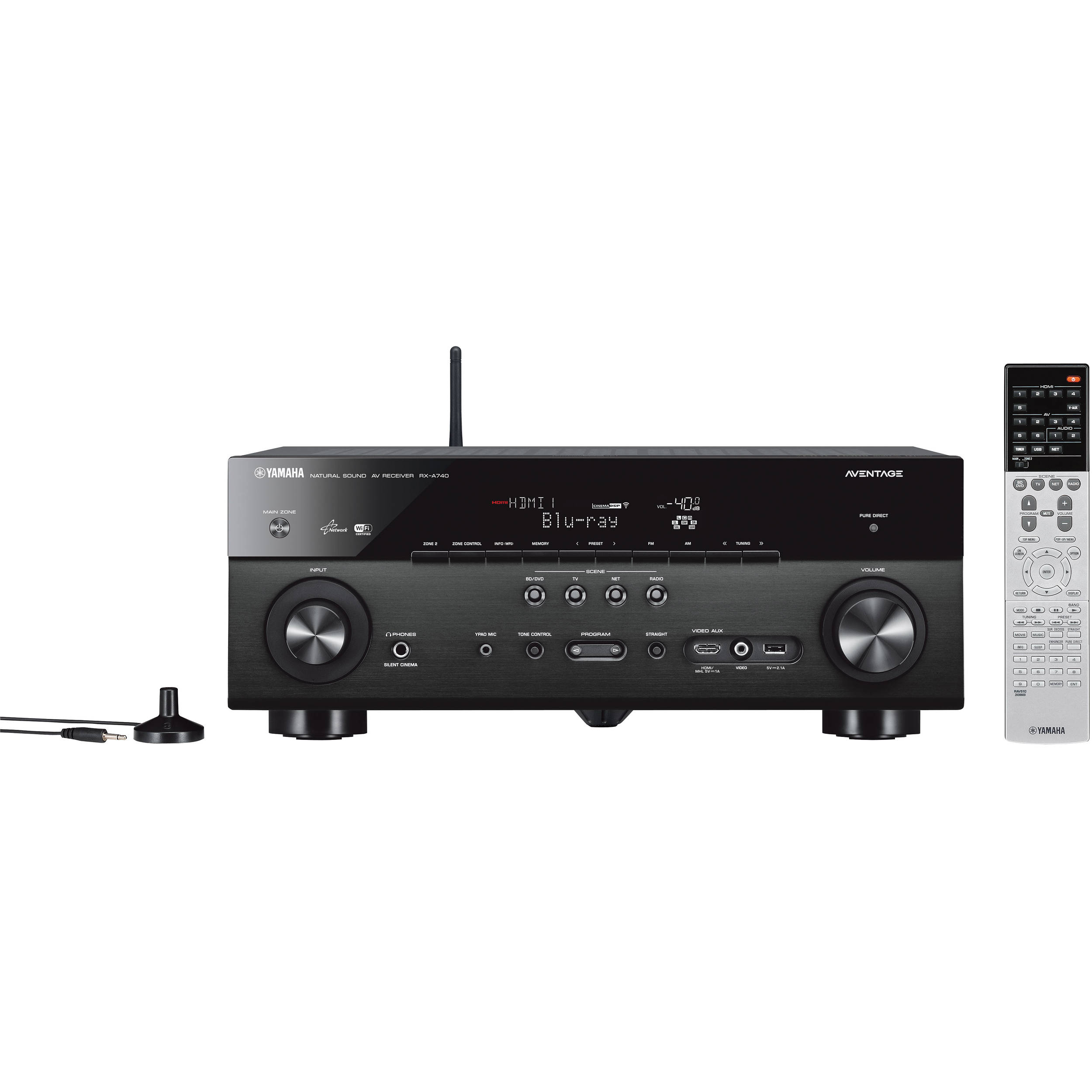 Yamaha AVENTAGE RX-A740 7 2 Channel Network AV Receiver