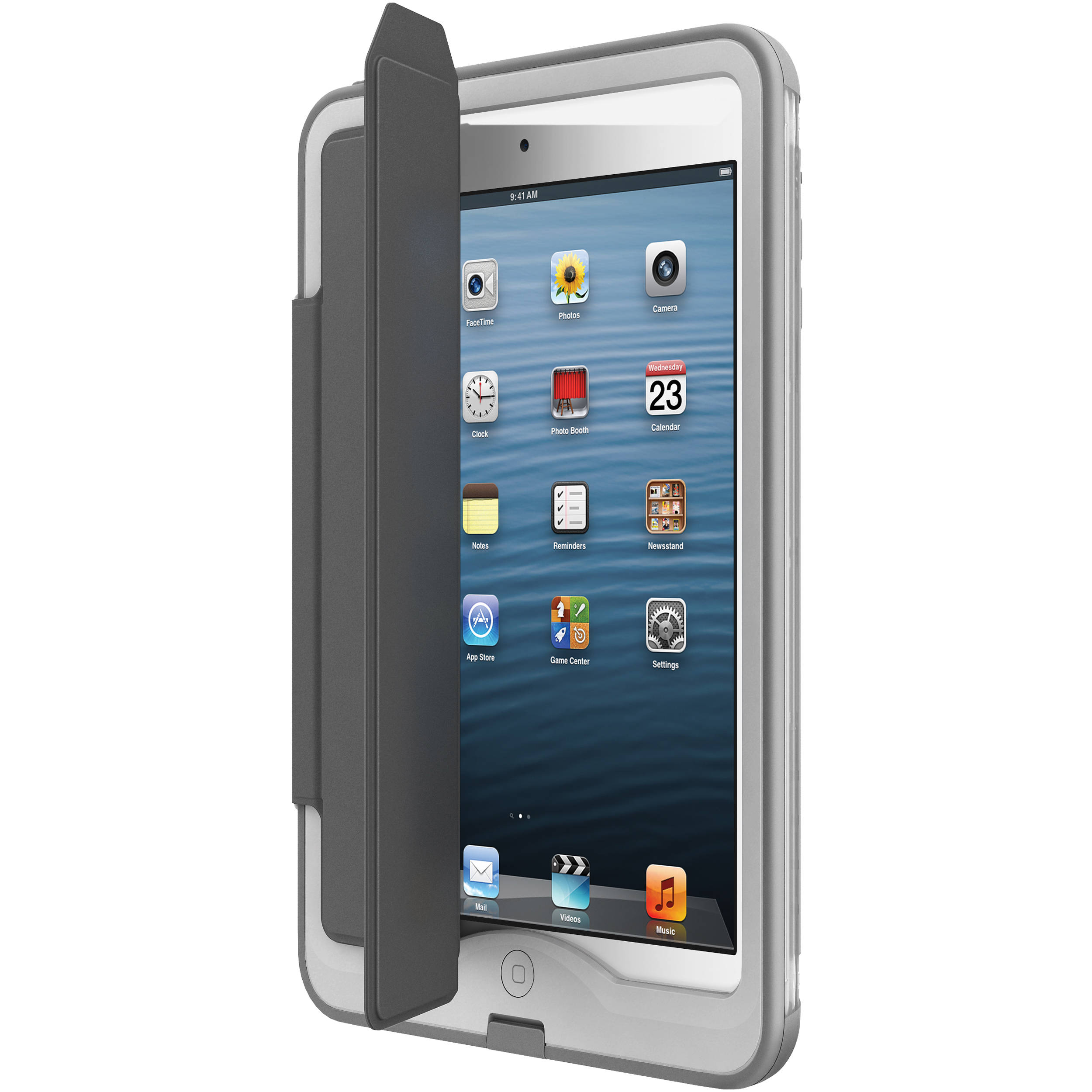 buy online 3f368 0e3be LifeProof Cover + Stand for iPad Air Case (Gray)