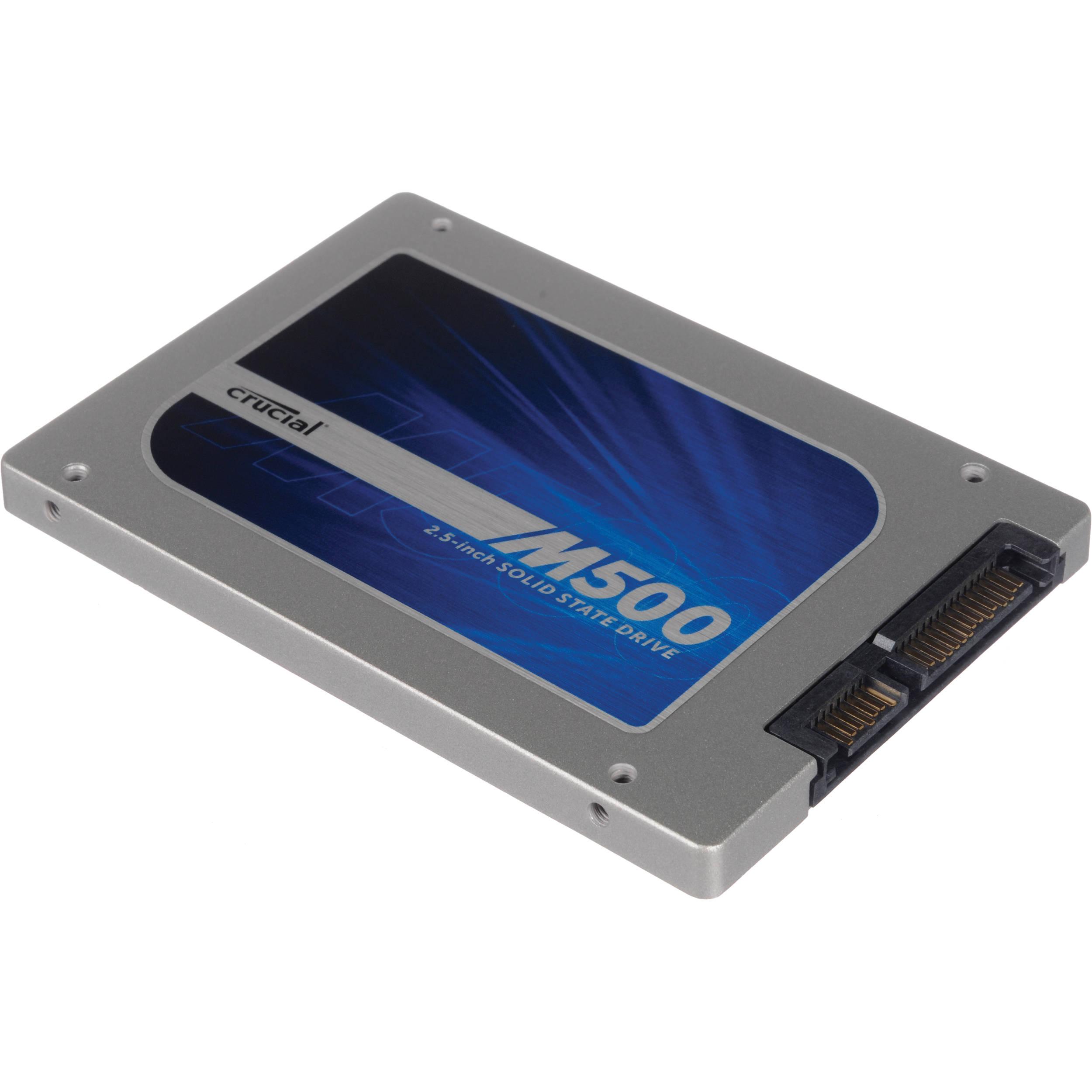 """Crucial 960GB SSD M500 SATA 6Gb//s Internal 2.5/"""" CT960M500SSD1"""