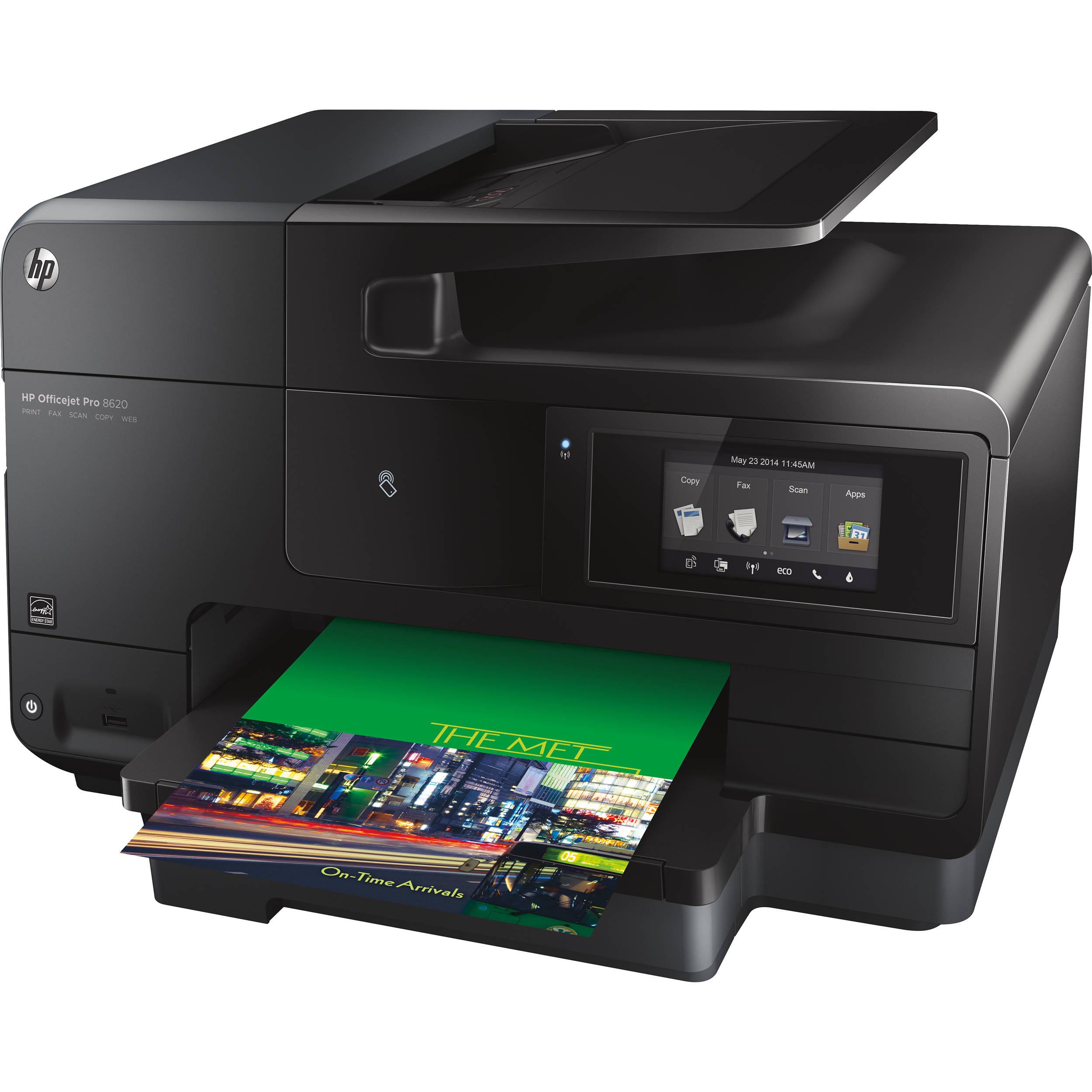 HP Officejet Pro 8620 e-All-in-One Wireless Color Inkjet Printer