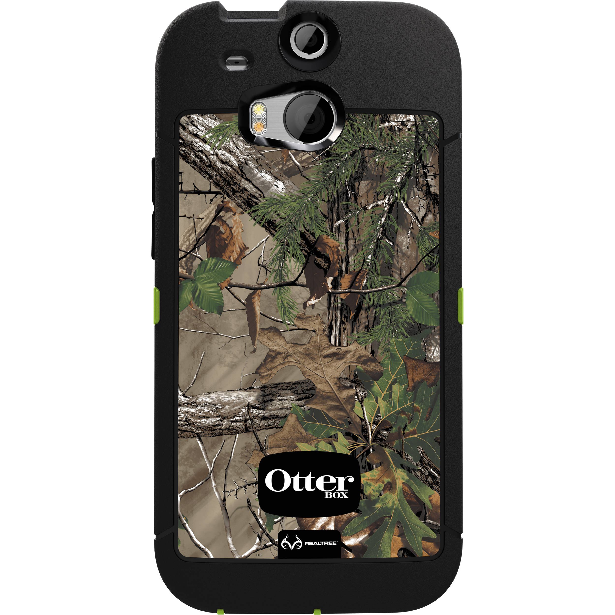finest selection 781a3 70f8d OtterBox Defender Series Case for HTC One M8 (Realtree Xtra Green)