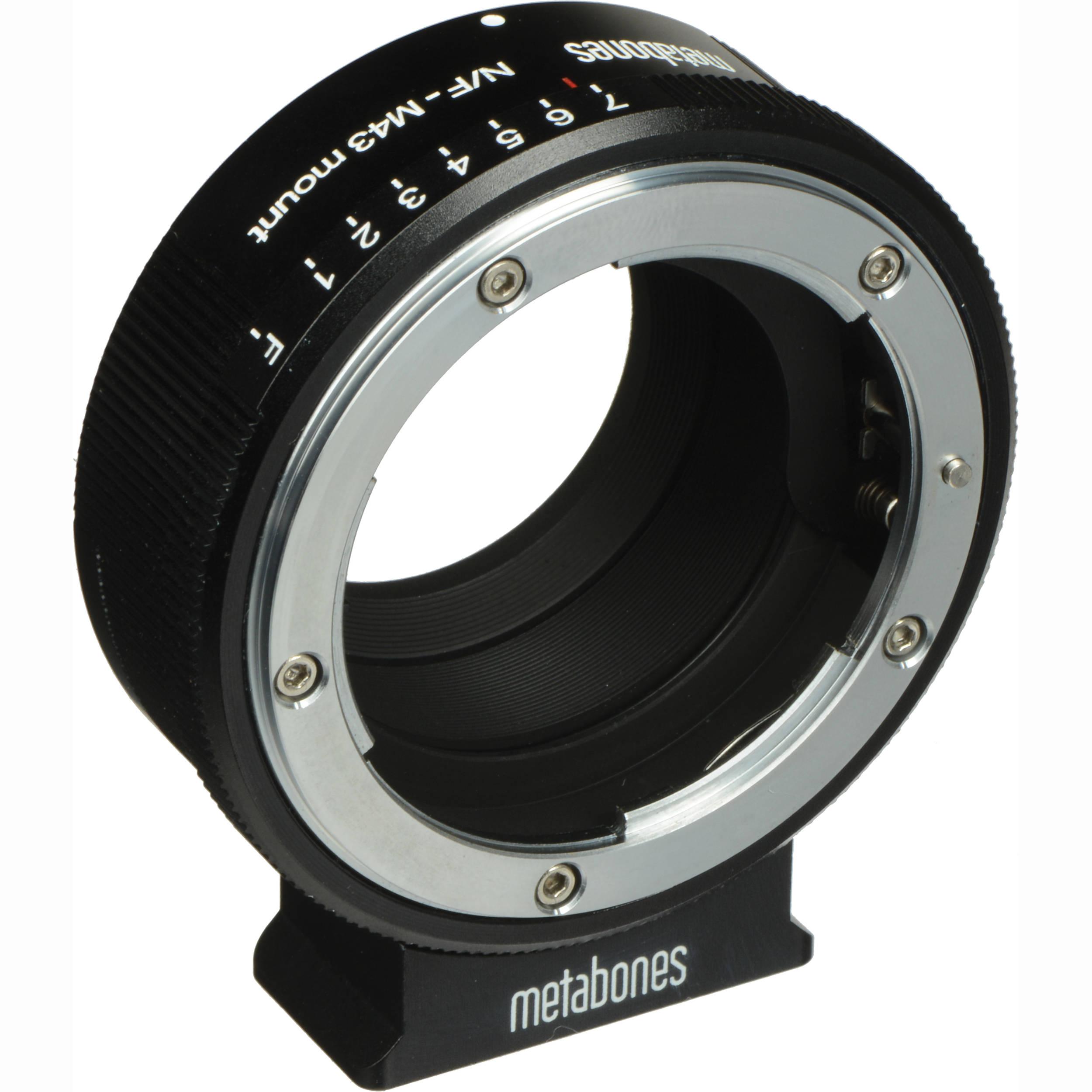 Metabones Nikon G Lens To Micro Four Thirds Lens Mb Nfg M43 Bm1