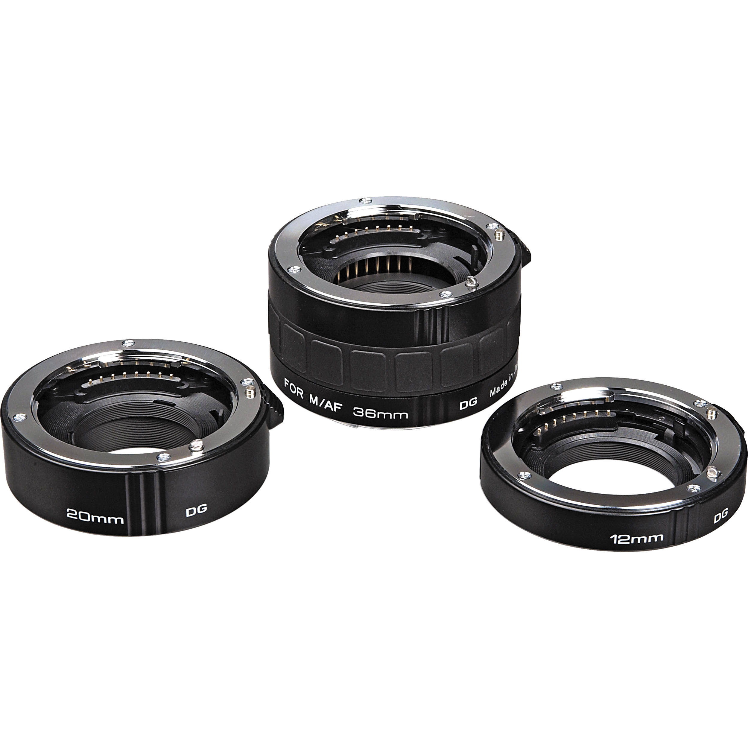 3 Rings Nikon AF for macro photography Kenko Automatic Extension Tube Set DG