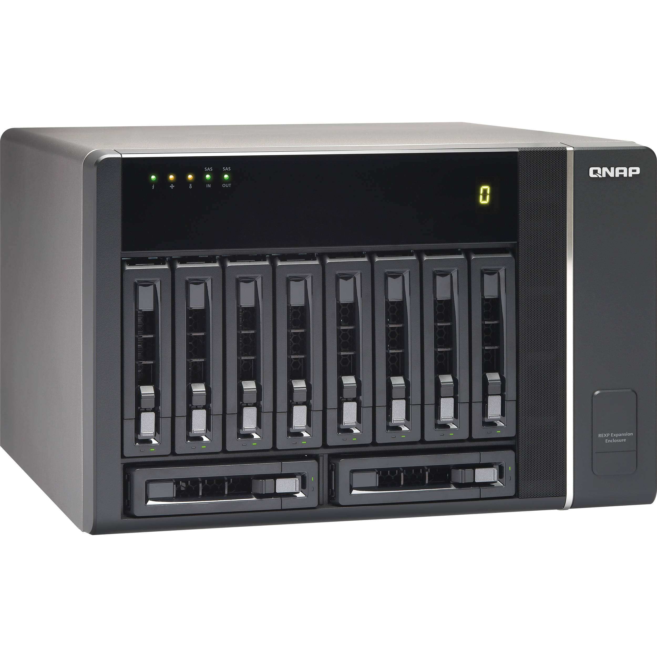 QNAP REXP-1000 Pro 10-Bay SAS RAID Expansion Enclosure