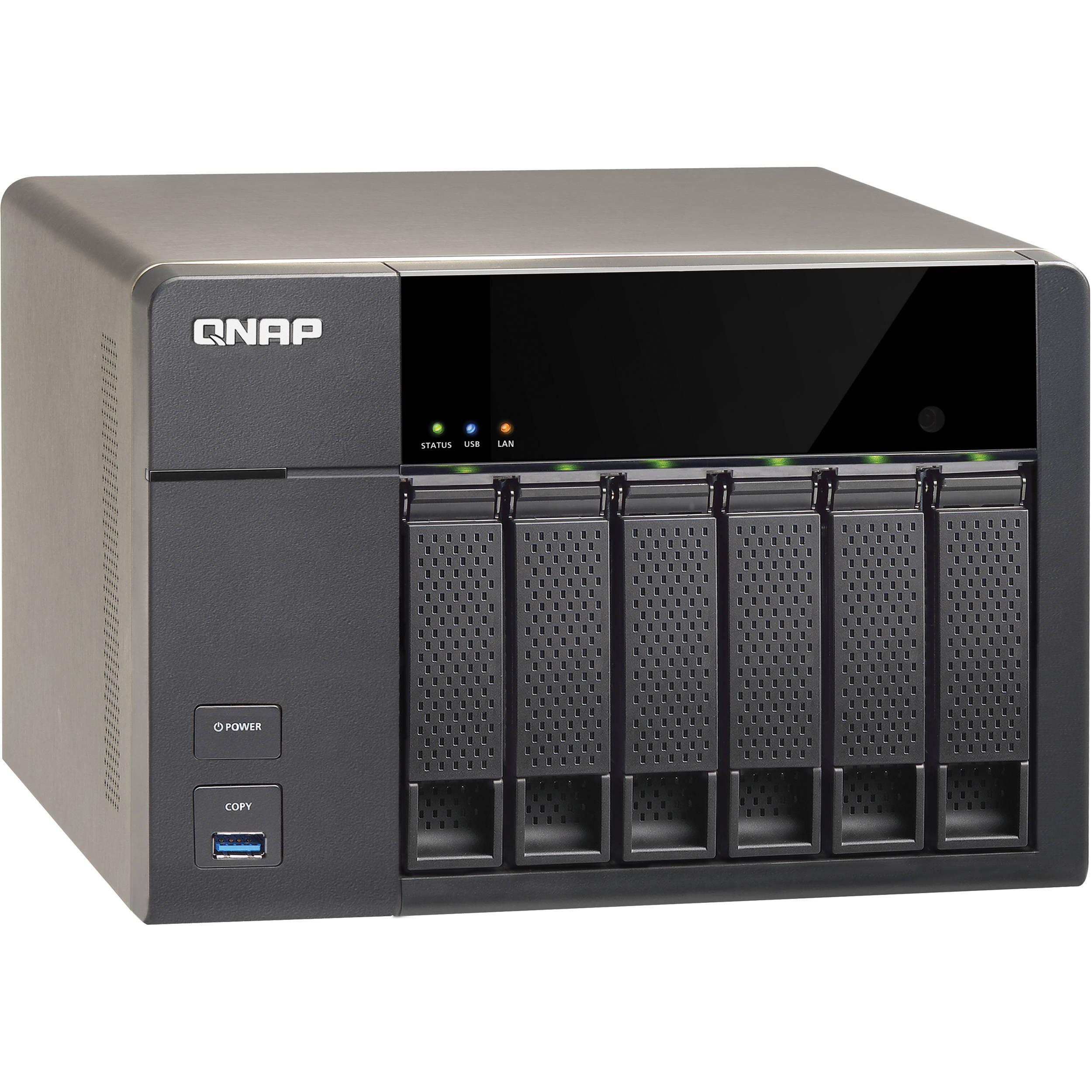 QNAP TS-651 6-Bay Home and SOHO NAS Server