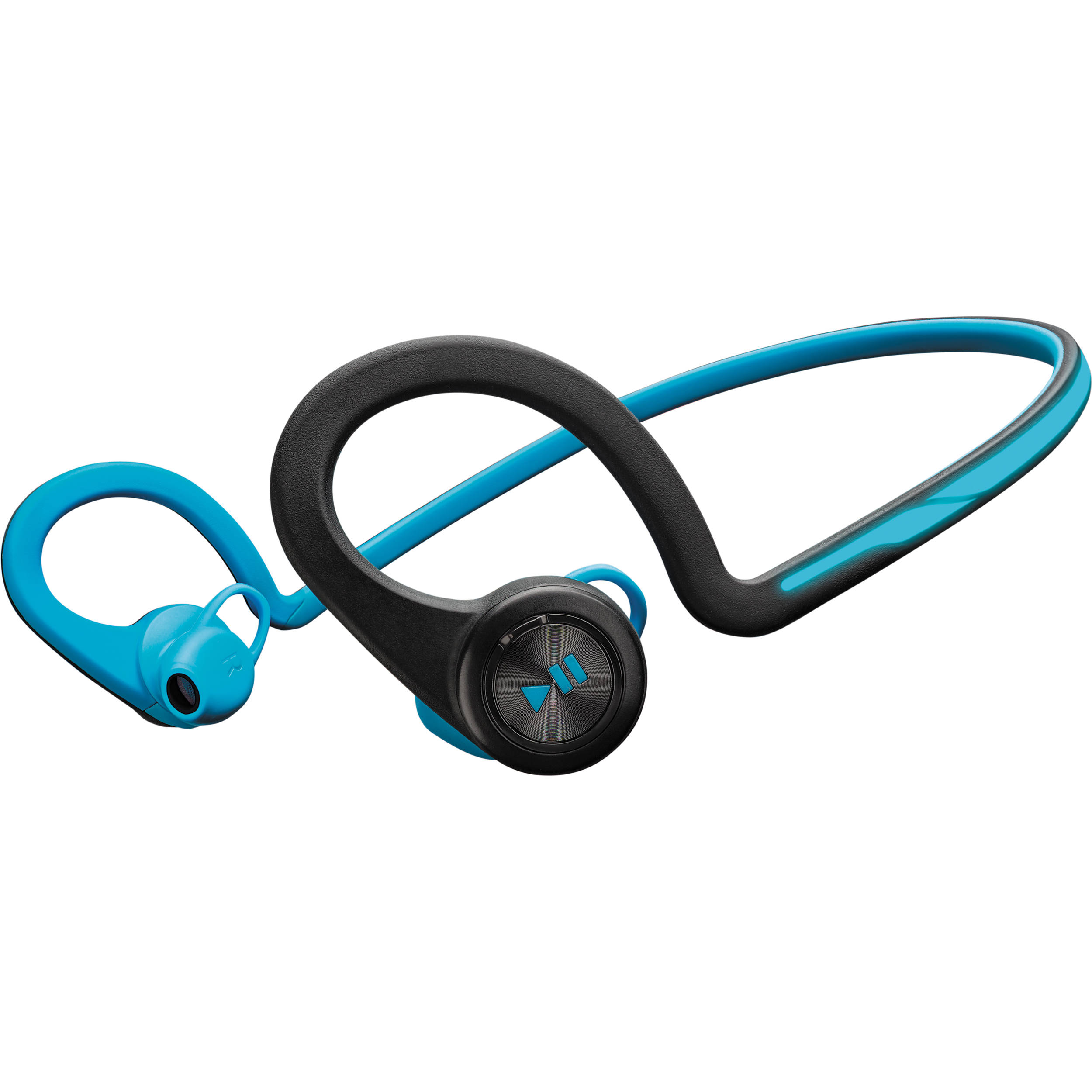 Plantronics BackBeat FIT Wireless Headphones with Mic (Blue)
