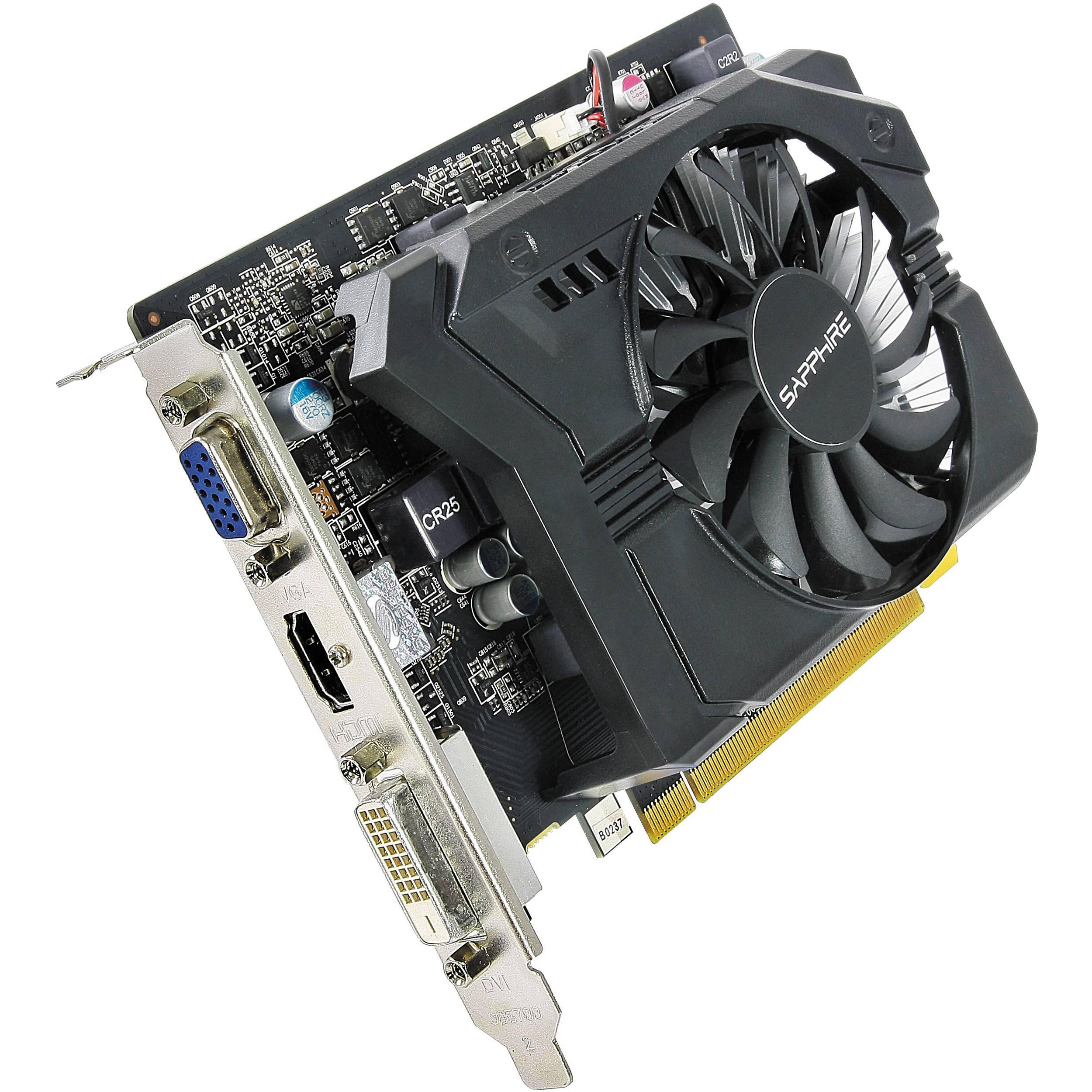 Sapphire Radeon R7 250 Graphics Card (1GB GDDR5, Boost)
