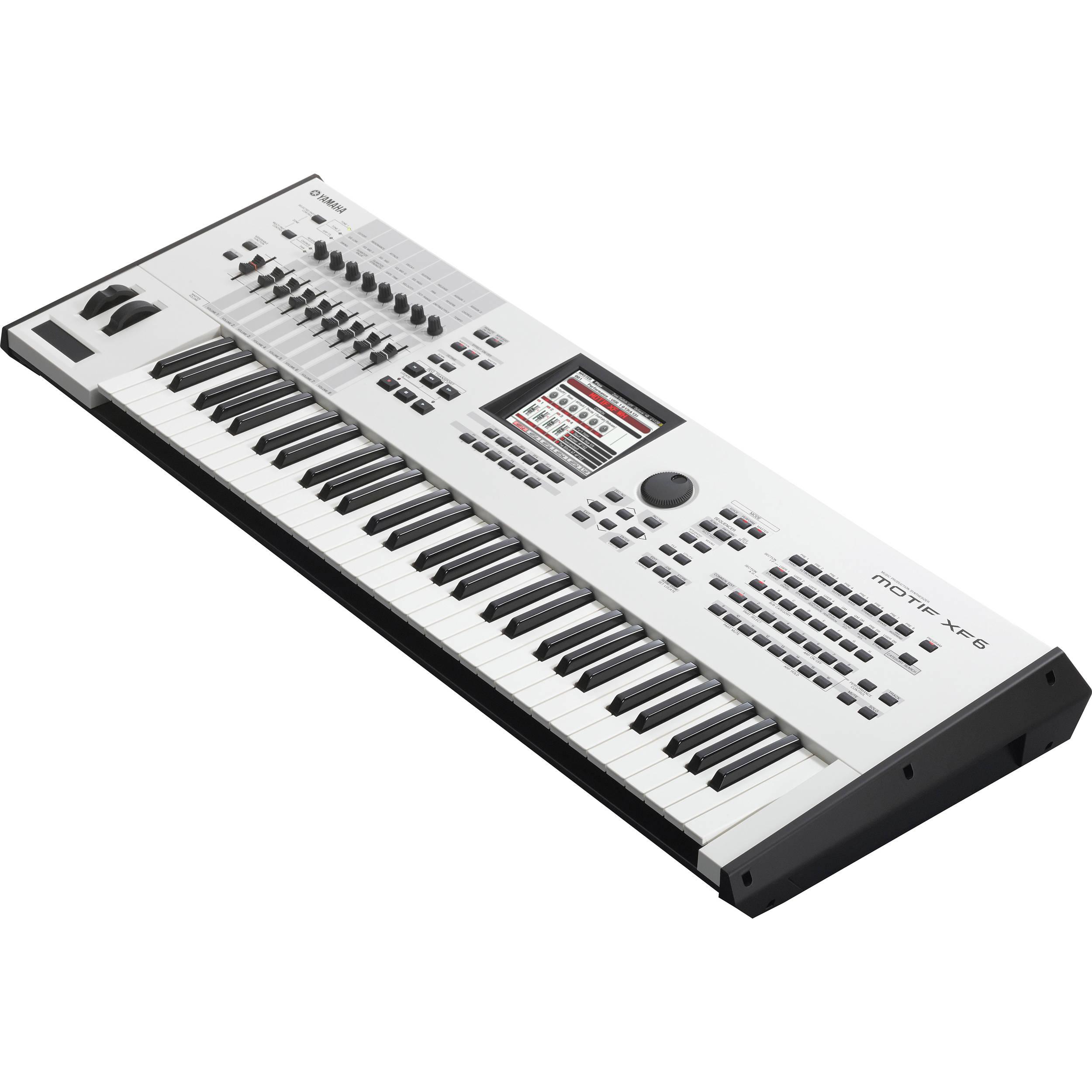 Yamaha MOTIF XF6 WH - Workstation Keyboard (White 40th Anniversary Edition)