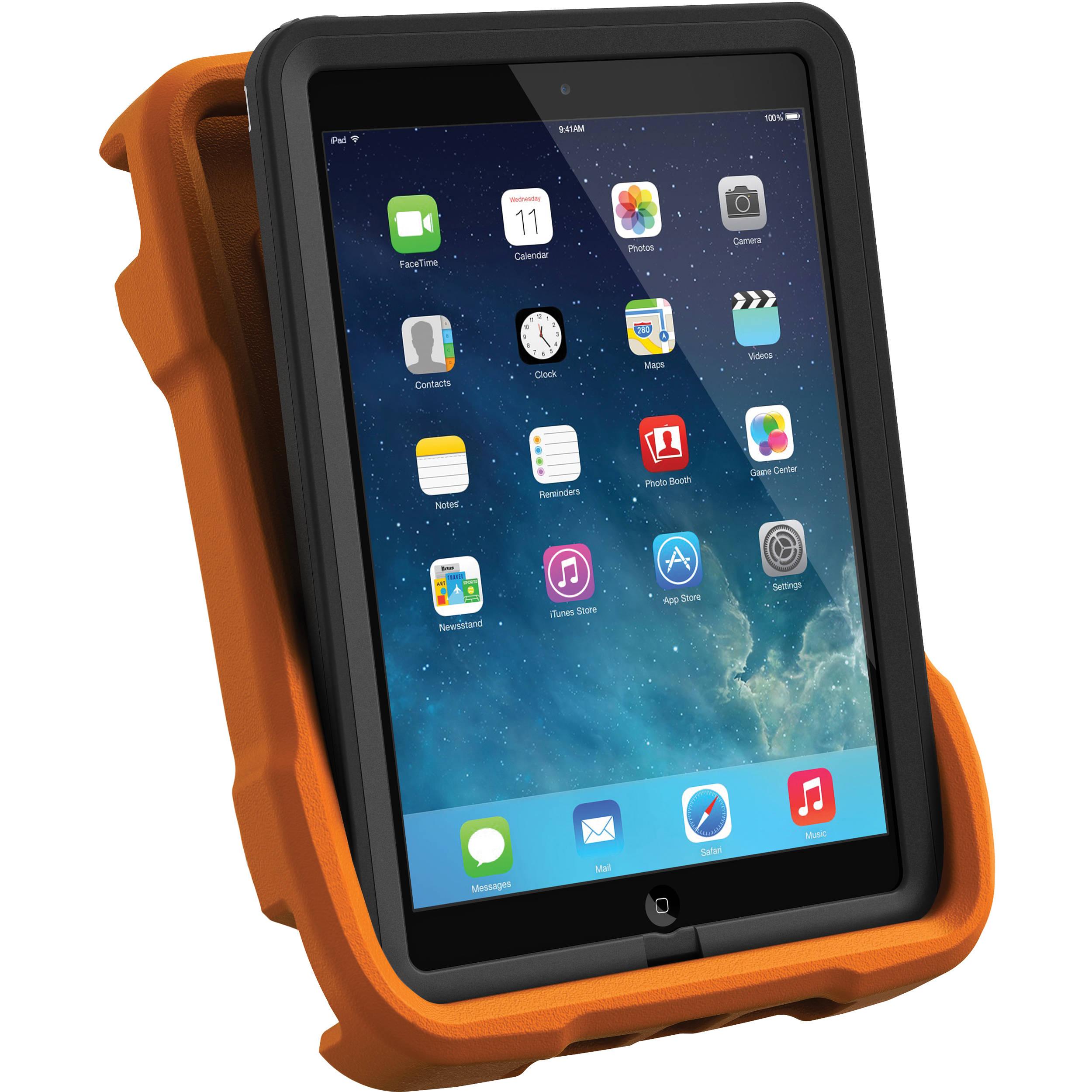 buy online 313ae 2e2fb LifeProof iPad Air nüüd & frē LifeJacket (Hi-Viz Orange)