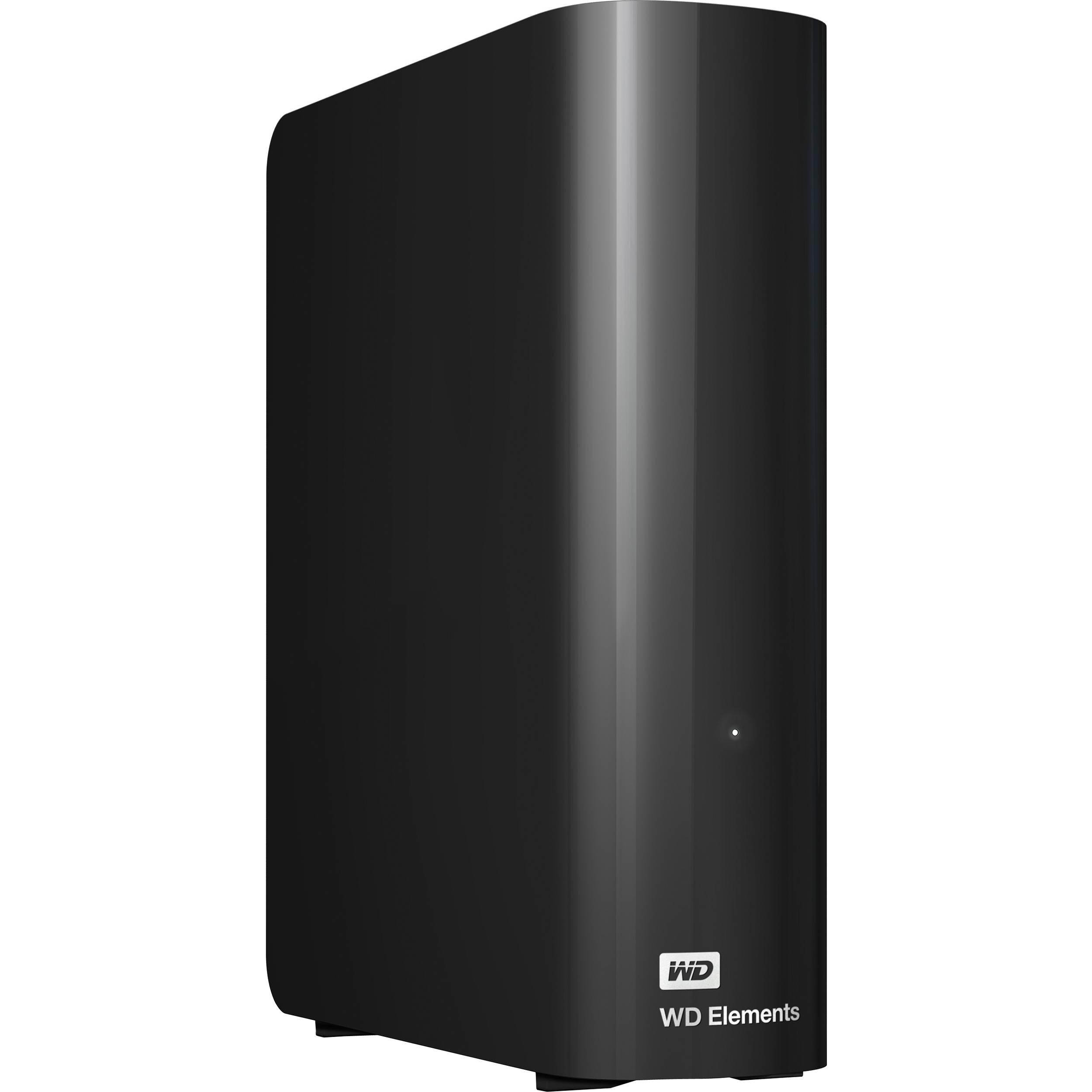 WD 4TB Elements Desktop USB 3 0 External Hard Drive