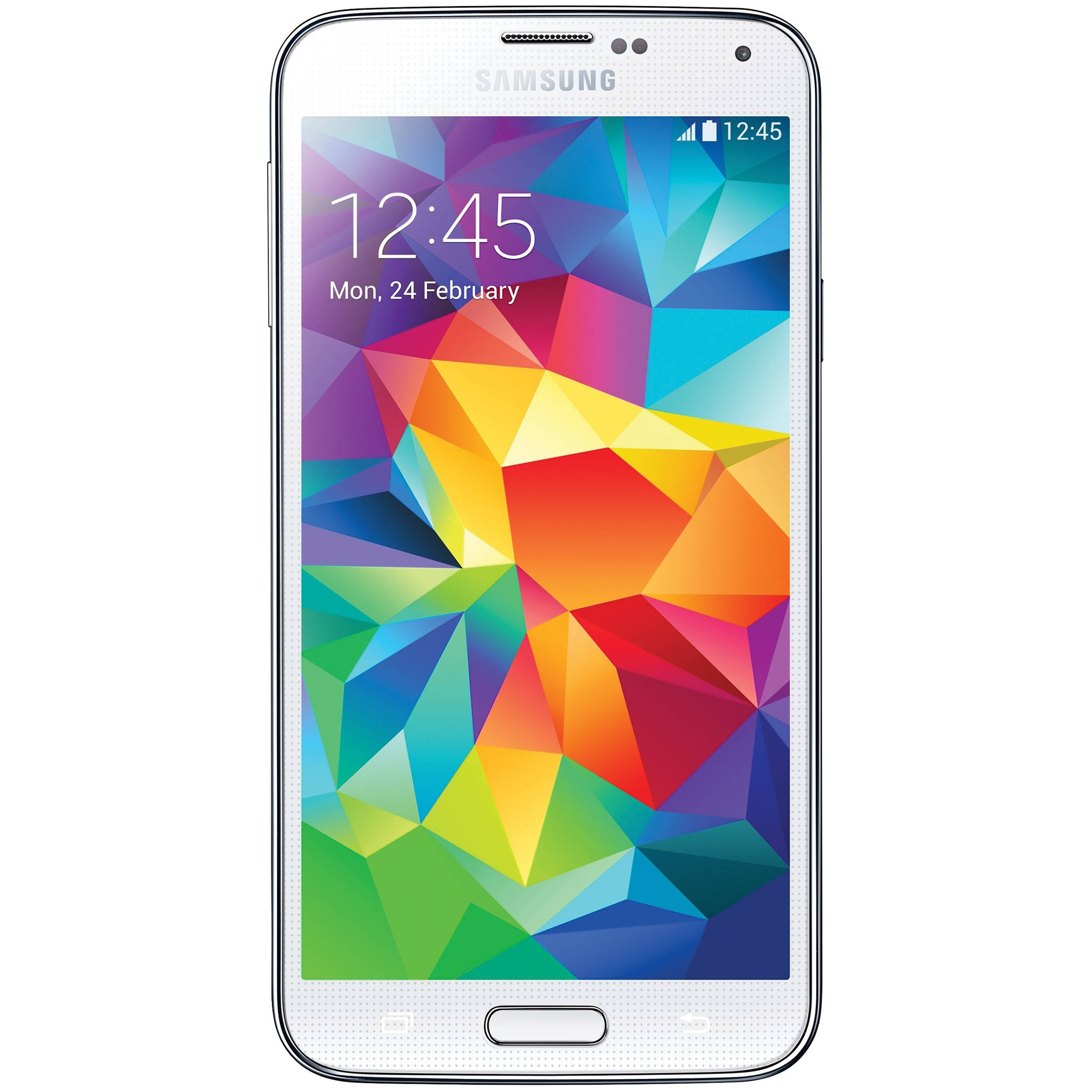 Samsung Galaxy S5 SM-G900A 16GB AT&T Branded Smartphone (Unlocked, Shimmery  White)