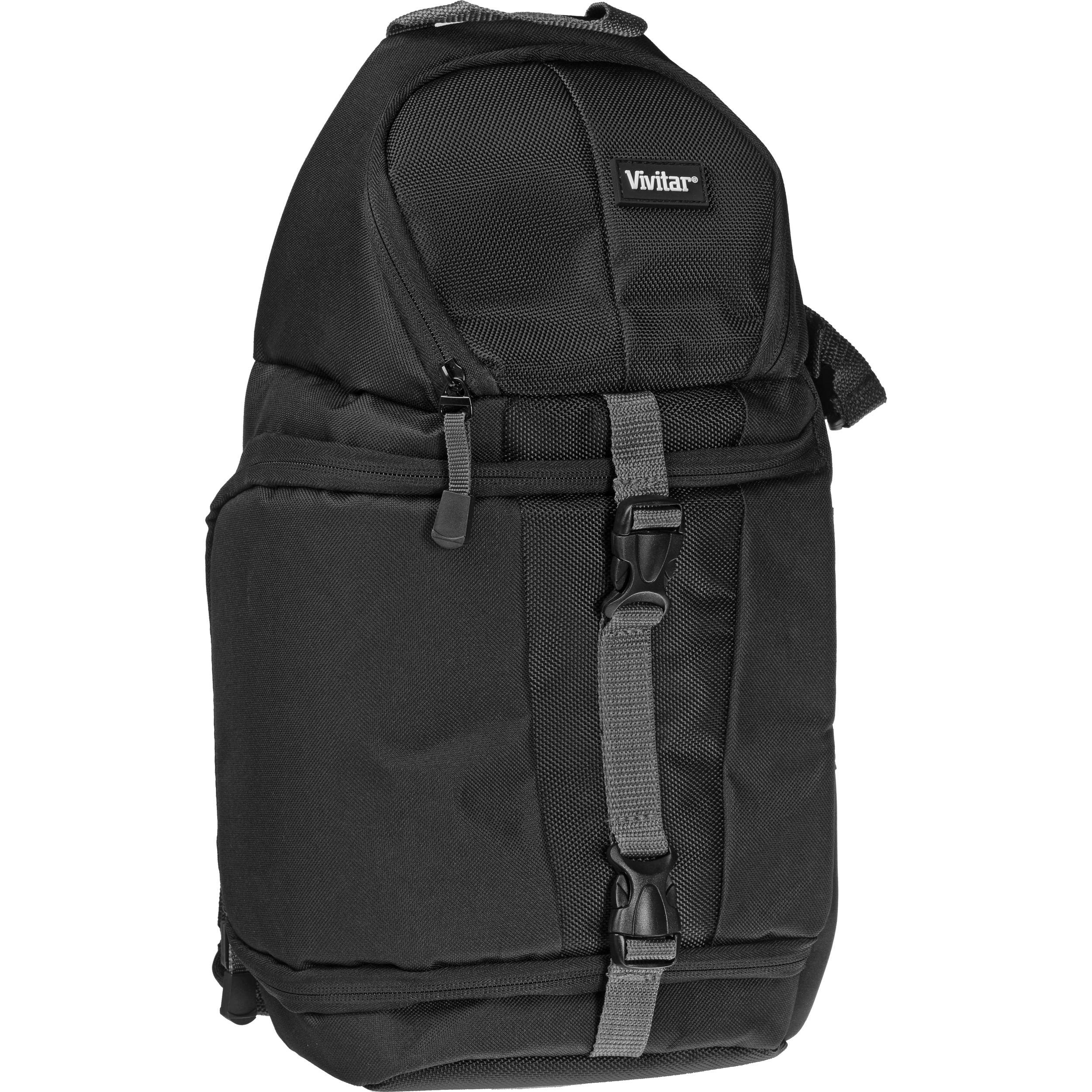 Vivitar Dks 15 Sling Backpack For Dslr System Black