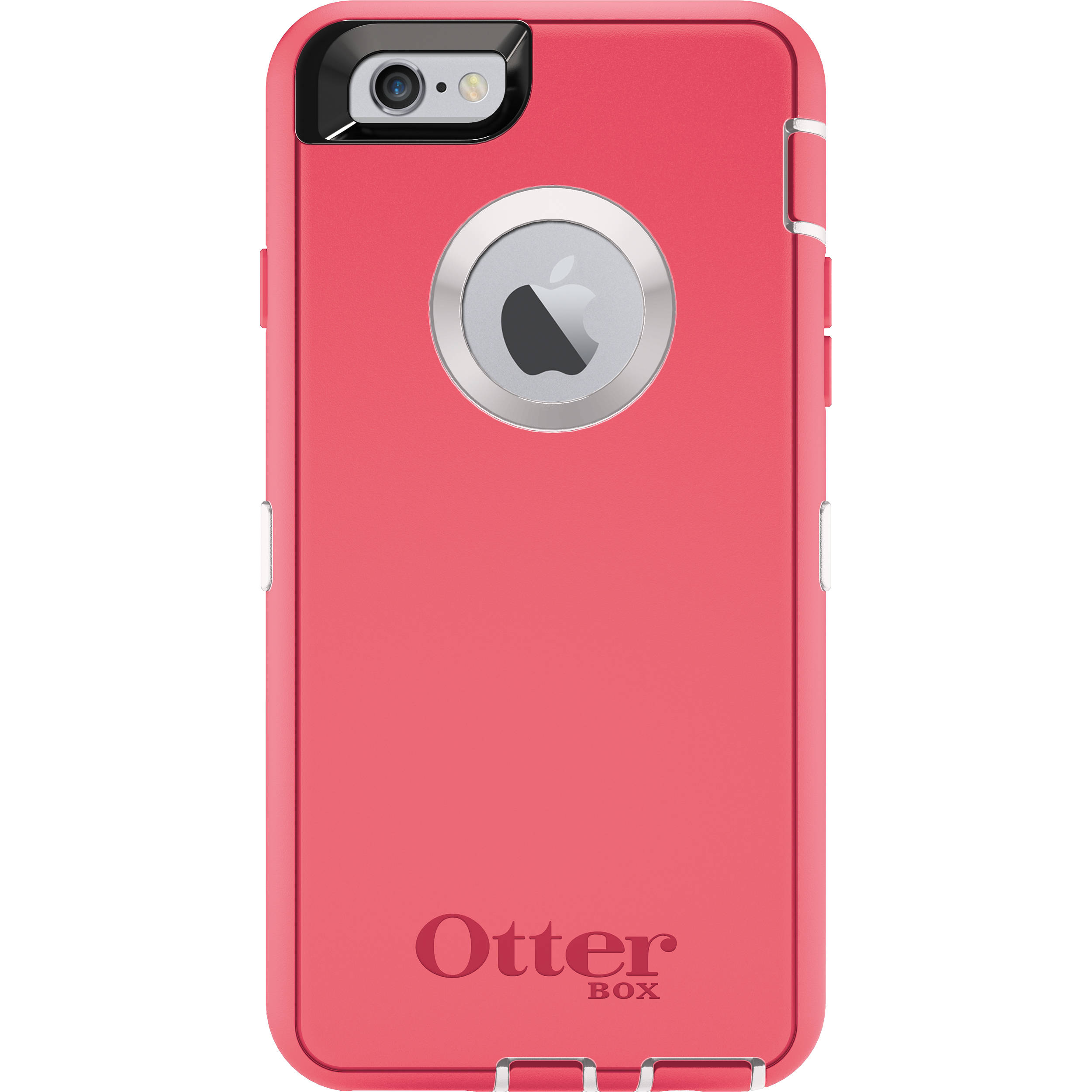best service ba110 17a7f OtterBox Defender Series Case for iPhone 6 (Neon Rose)