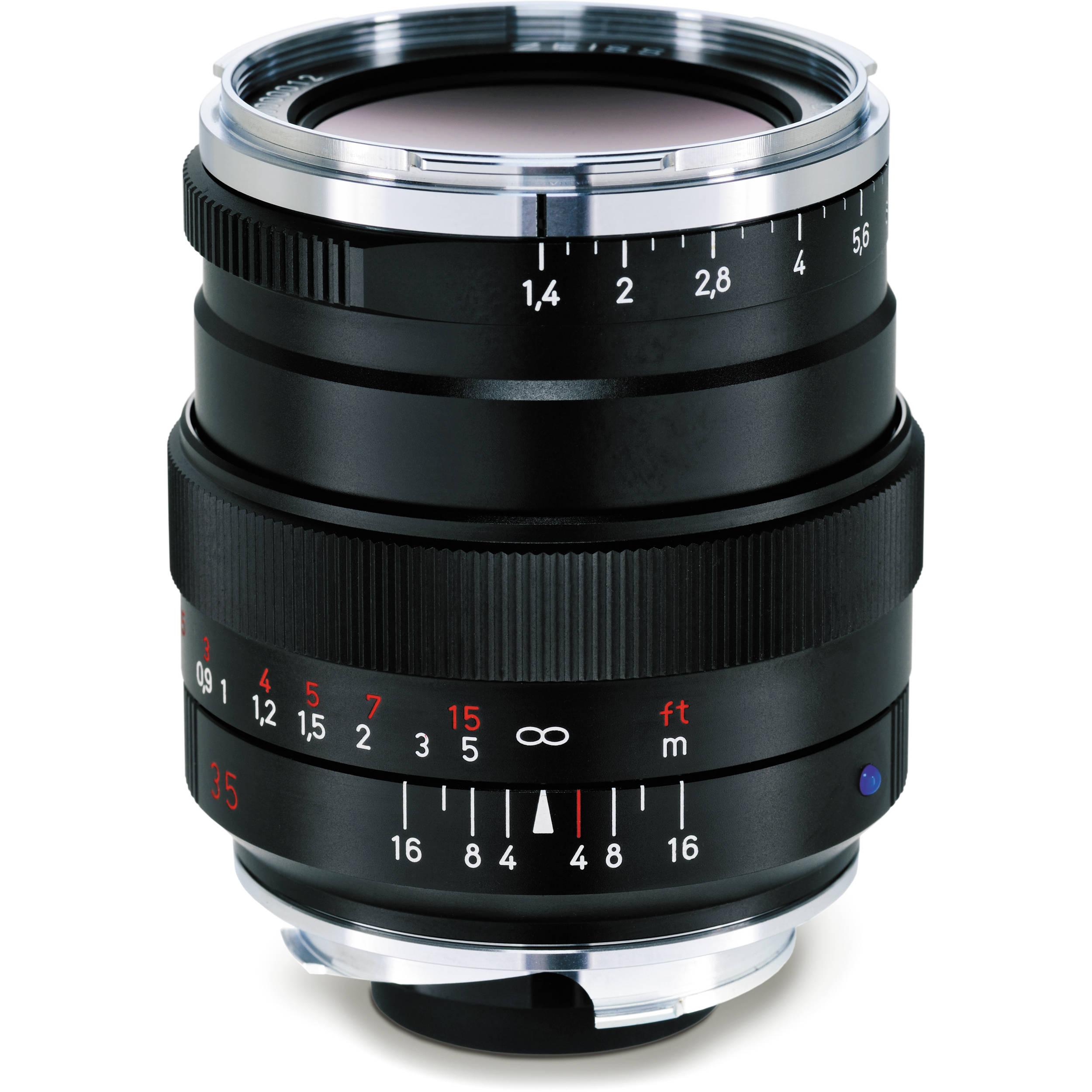ZEISS Distagon T* 35mm f/1 4 ZM Lens (Black)