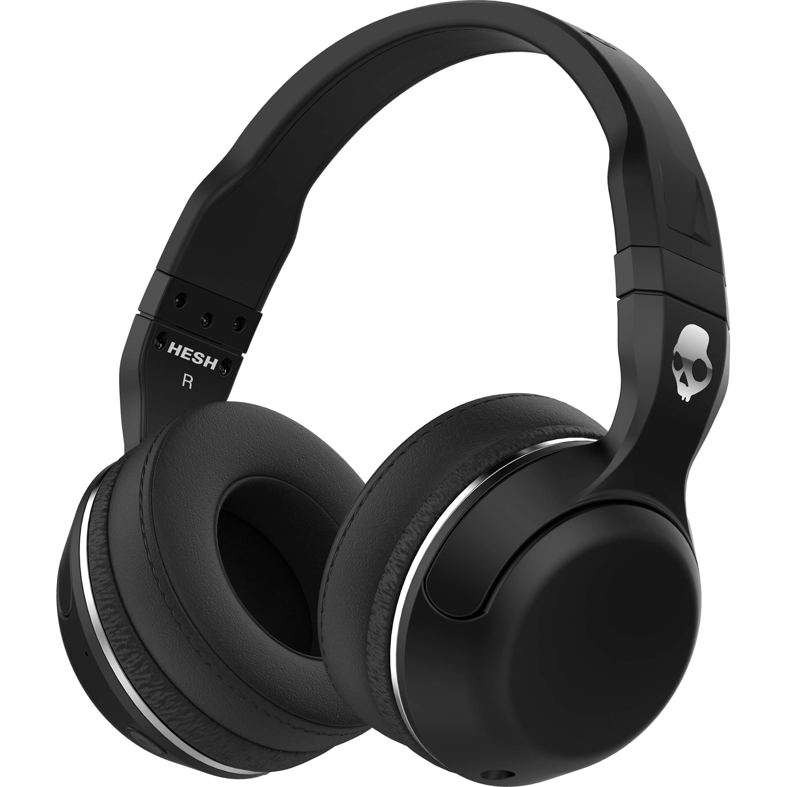 Skullcandy Hesh 2 Wireless Bluetooth Headphones Black