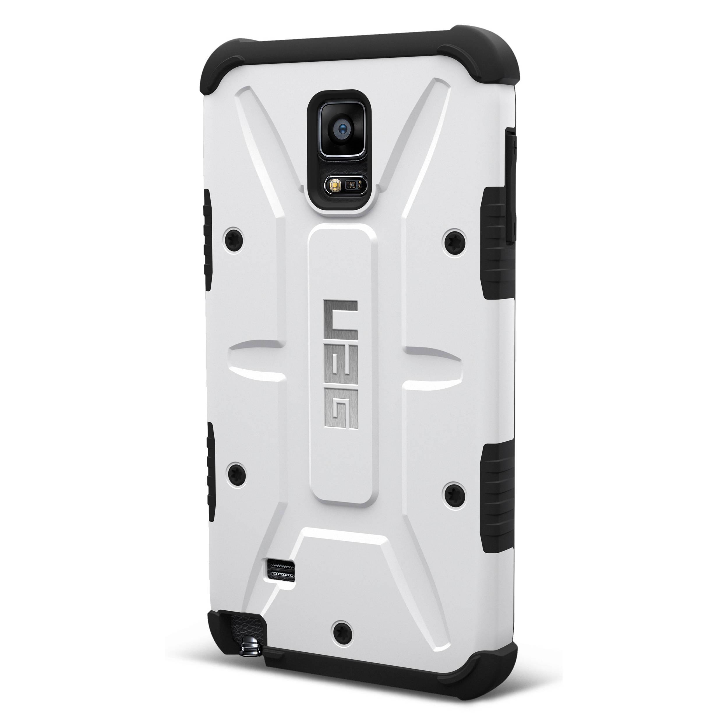 uk availability 5e743 c8ed0 Urban Armor Gear Composite Case for Galaxy Note 4 (White)