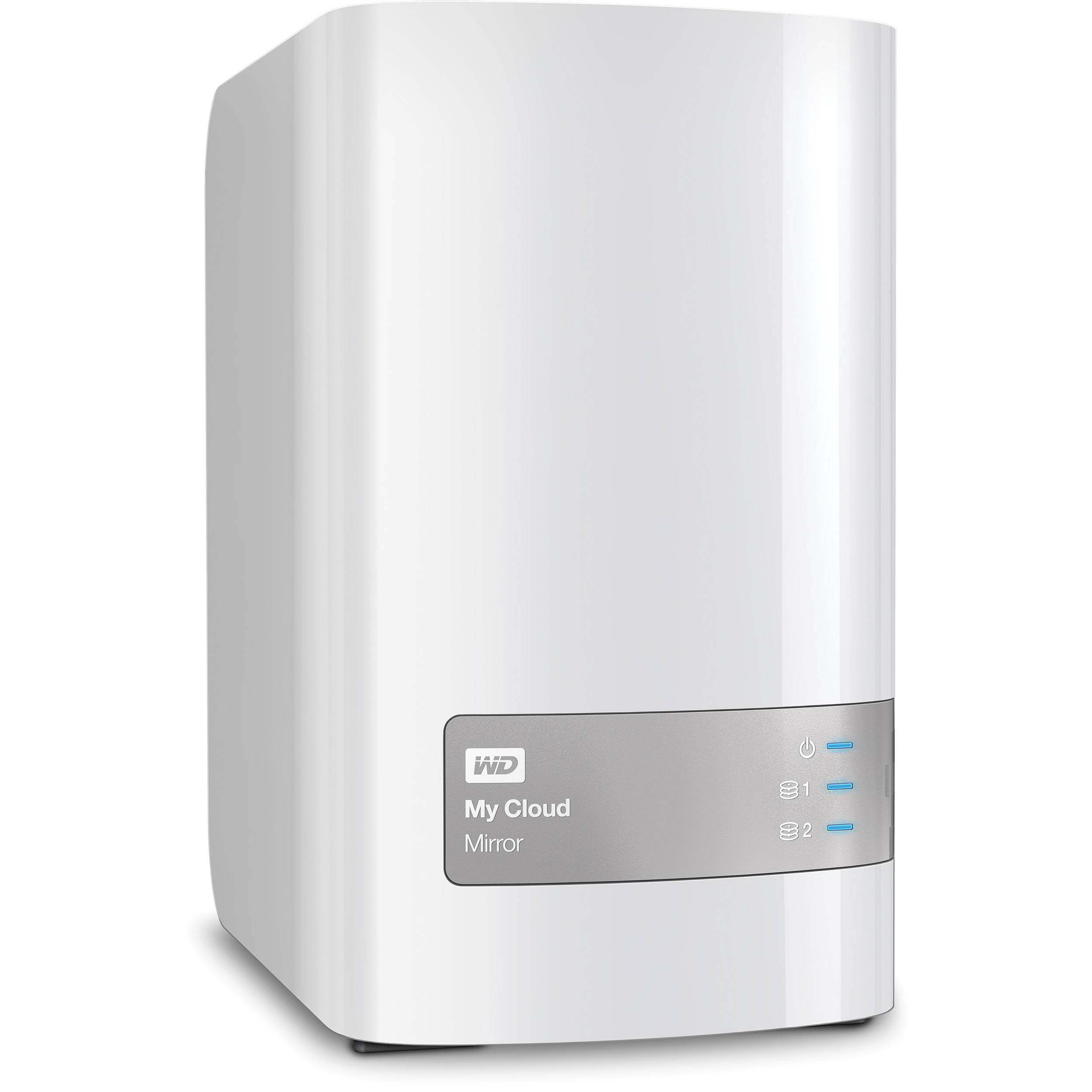 WD 4TB My Cloud Mirror External Hard Drive