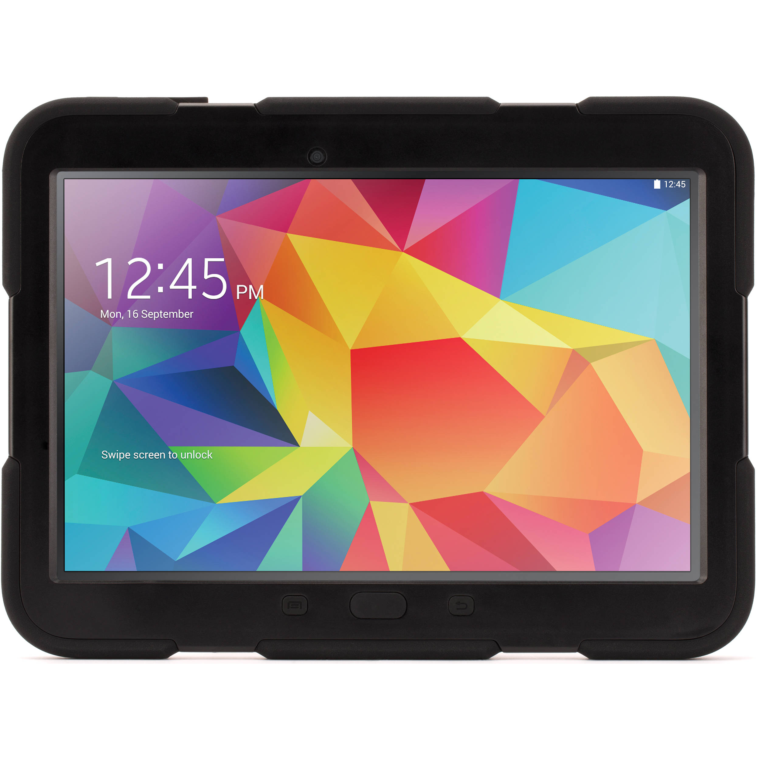 buy online c983a 47e10 Griffin Technology Survivor Case with Stand for Samsung Galaxy Tab 4 10.1  (Black/Black)