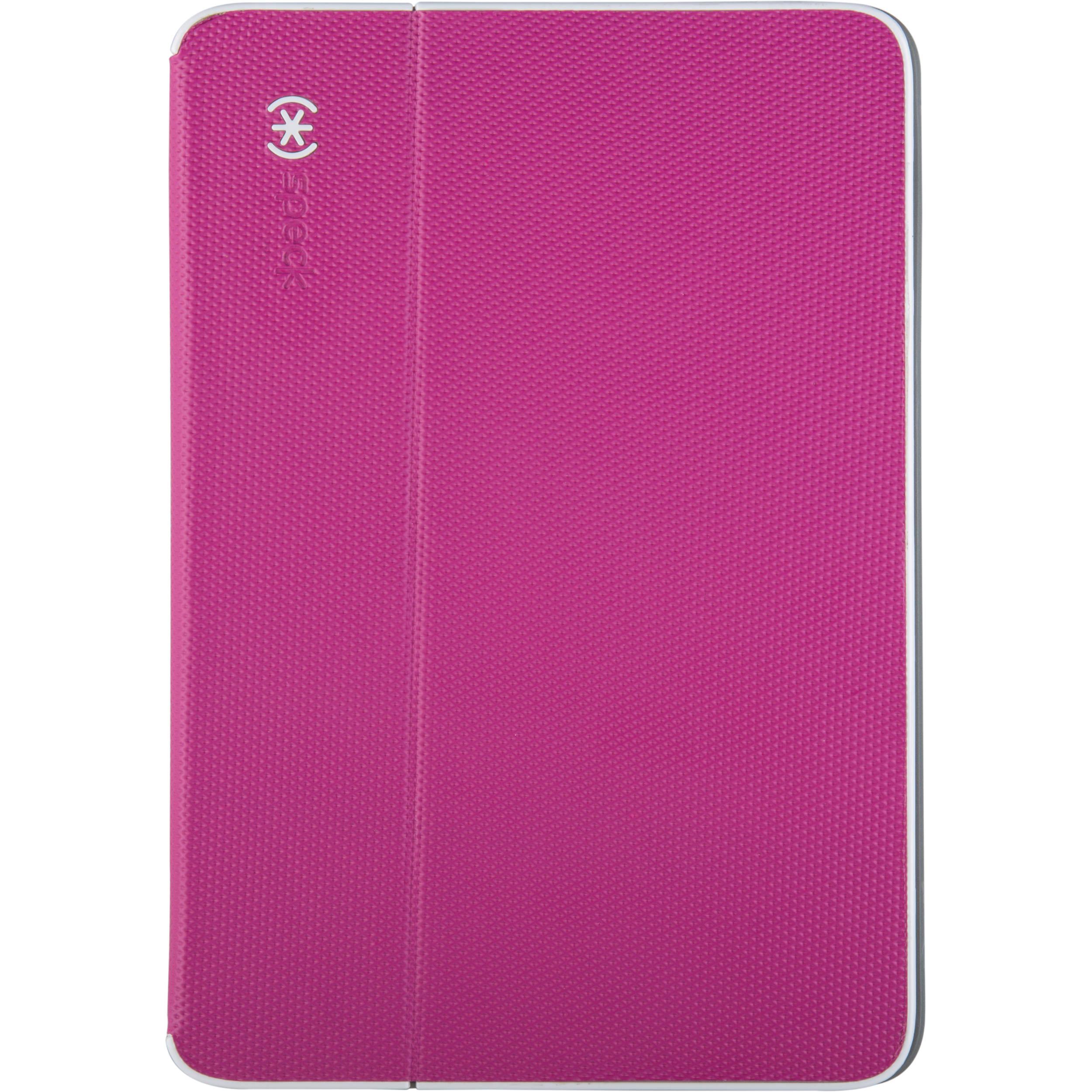 new products 57cc8 ff140 Speck DuraFolio Case for iPad mini 1/2/3 (Fuchsia Pink/White)