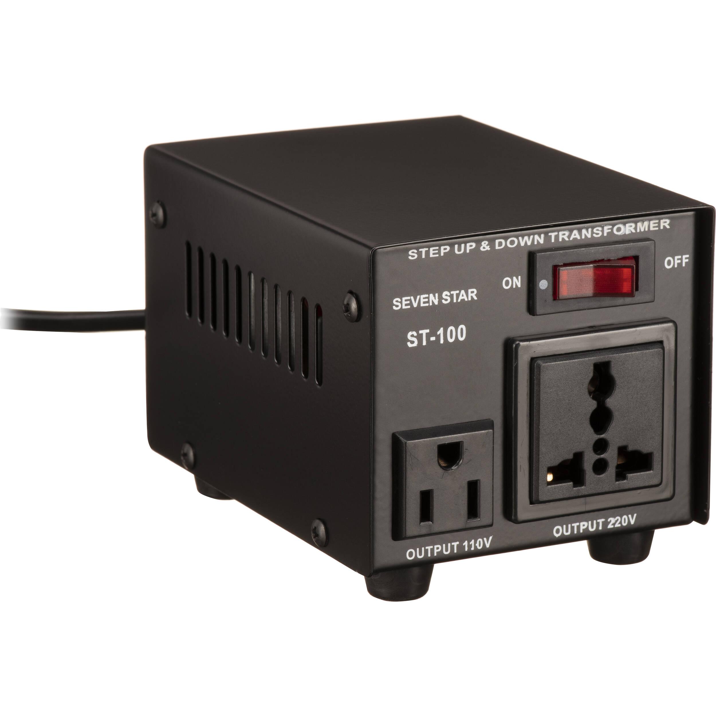 100W 110V//120V to 220V//240V Step Up or Down Voltage Converter Transformer UK
