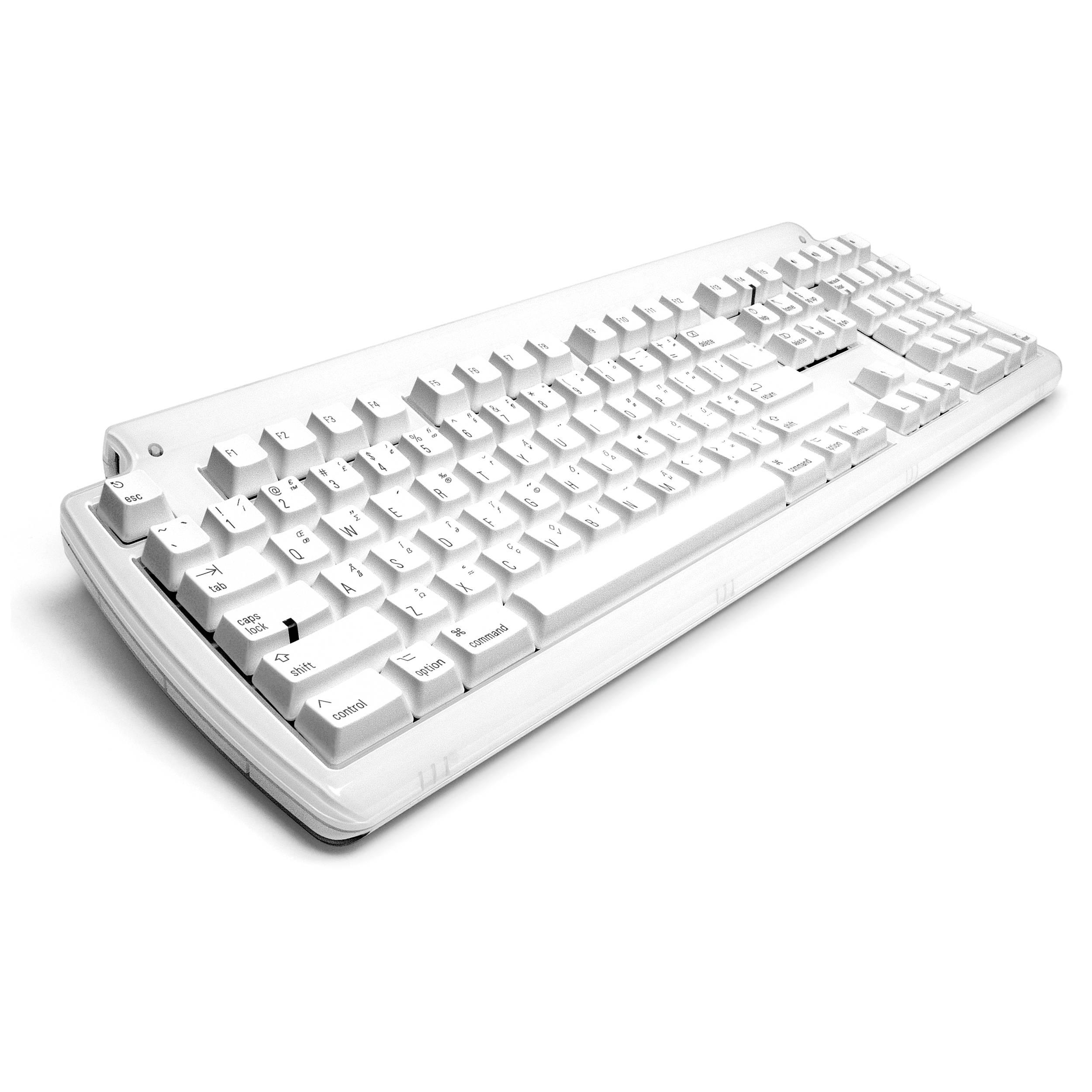 Matias Tactile Pro Keyboard for Mac (White)