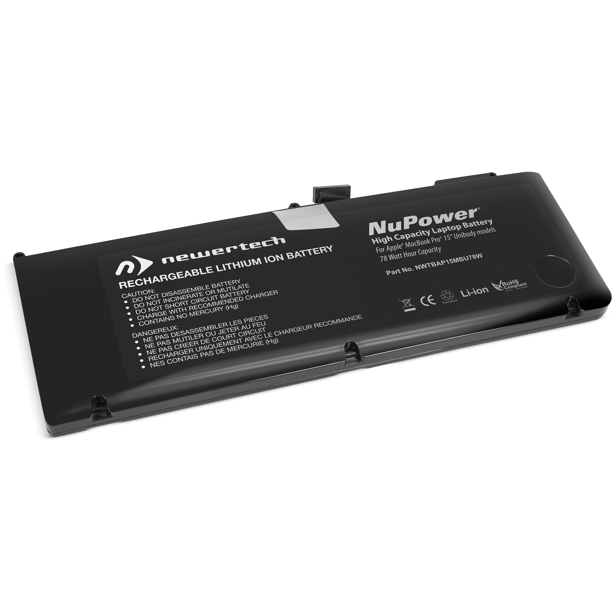 NewerTech NuPower Replacement Battery for MacBook Pro 17