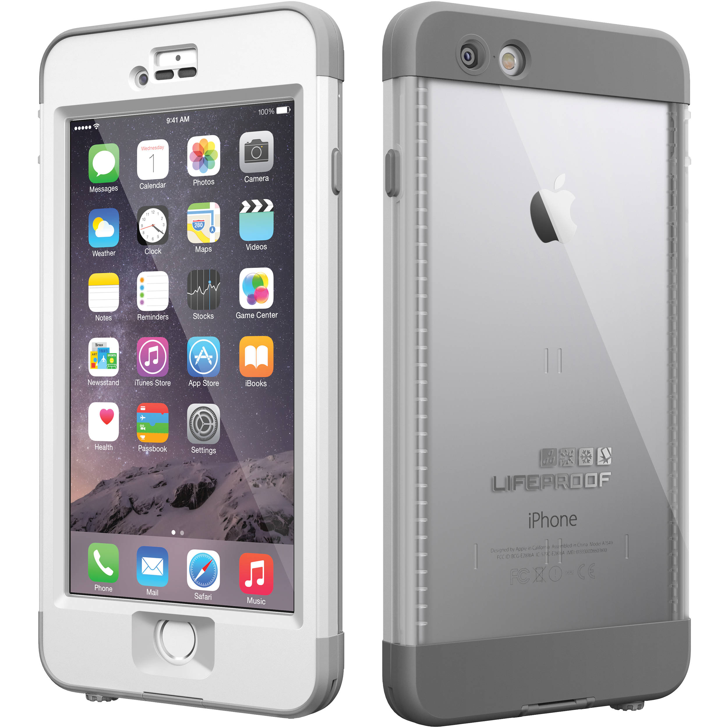 size 40 3e610 45255 LifeProof nüüd Case for iPhone 6 Plus (Glacier)