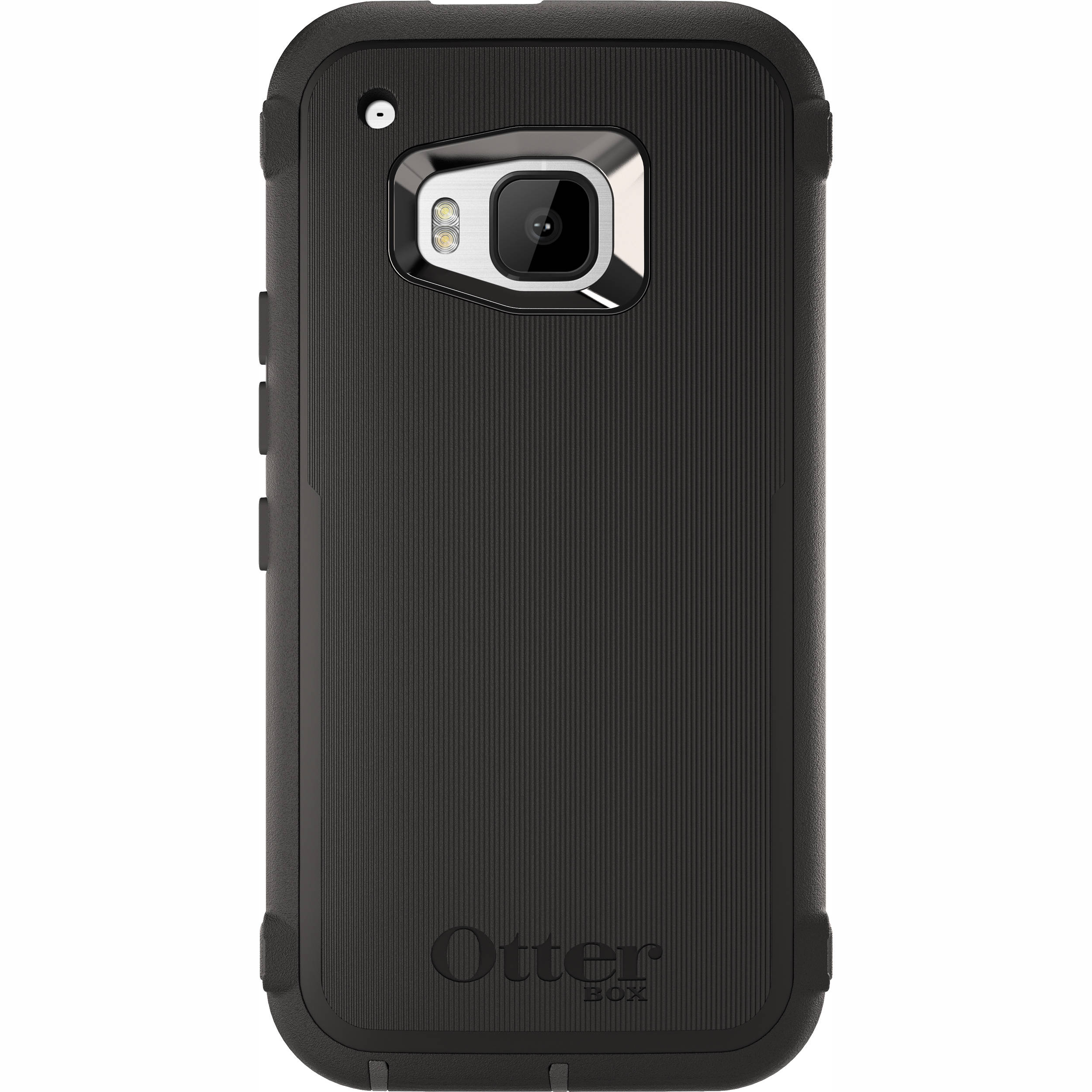 size 40 917c7 8e450 OtterBox Defender Series Case for HTC One M9 (Black)
