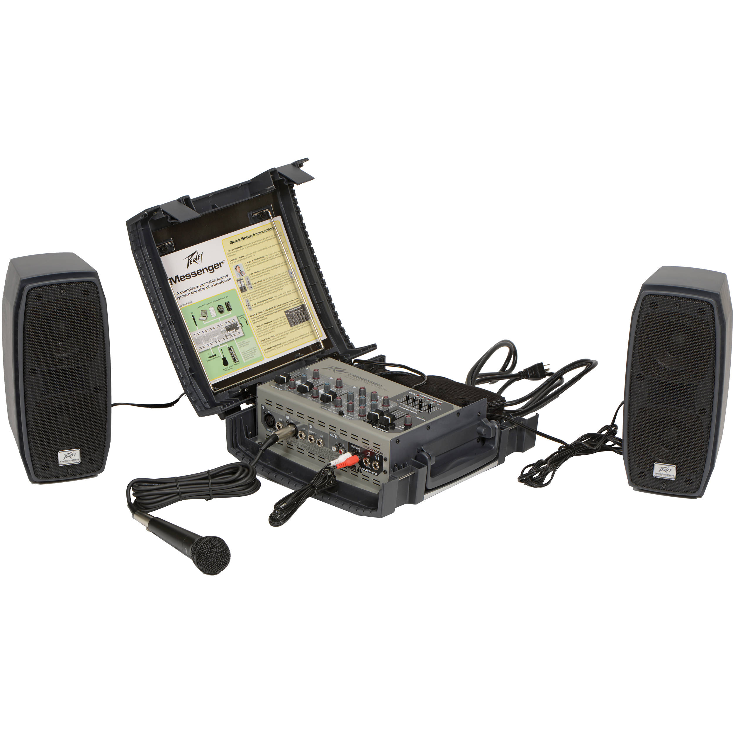 Peavey Messenger 100W Portable Sound System