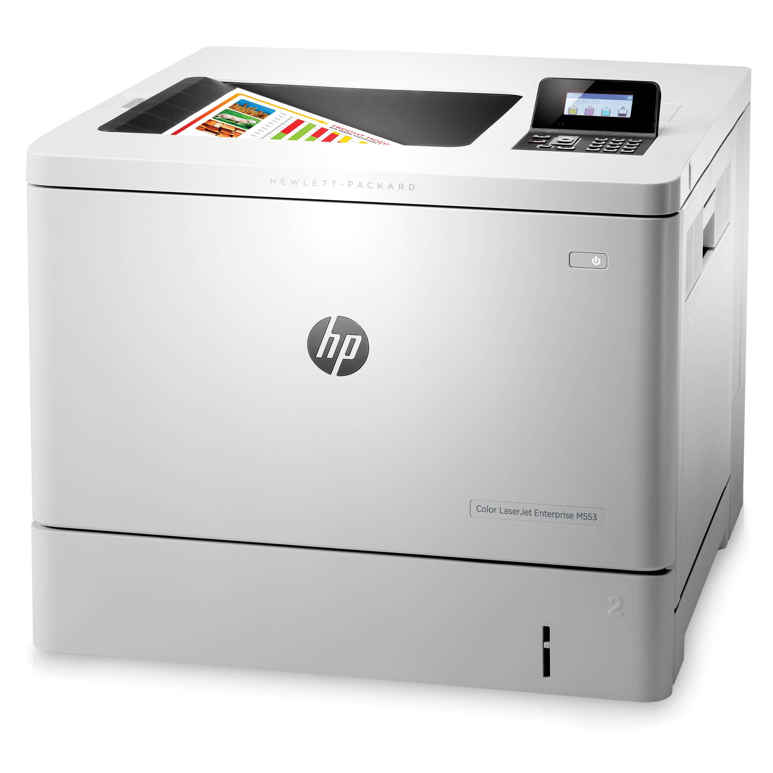 Impresora Laser Hp Laserjet Cpm553Dn A Color Red Y Usb