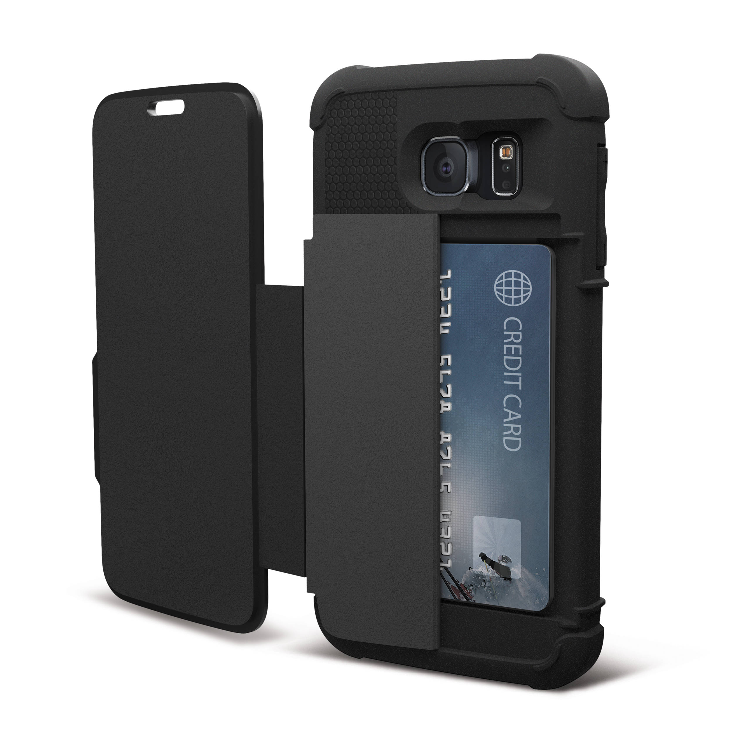 new style f0850 72541 Urban Armor Gear Folio Case for Galaxy S6 (Scout)