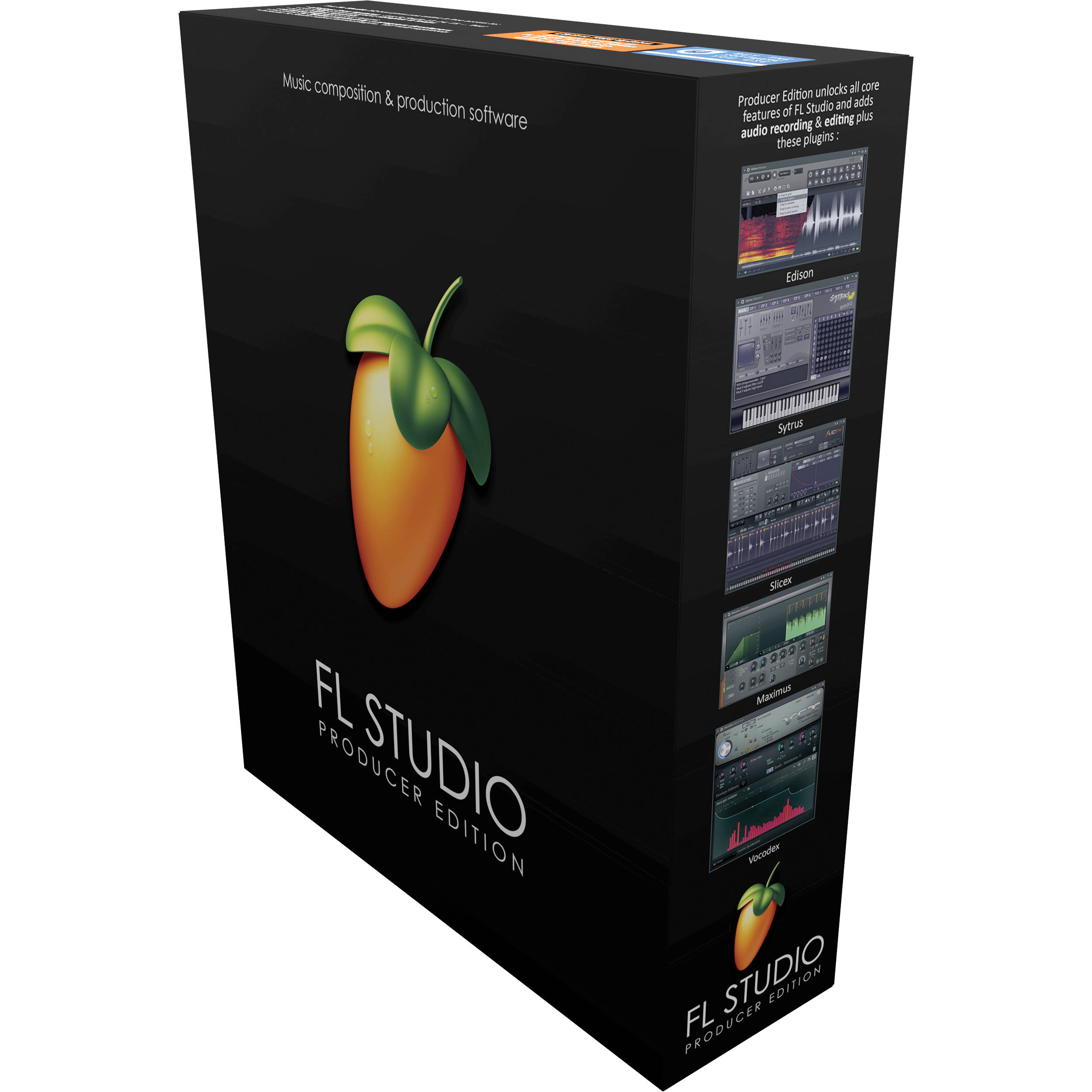 Image-Line FL Studio 12 Producer Edition - Complete Music Production  Software (Download)