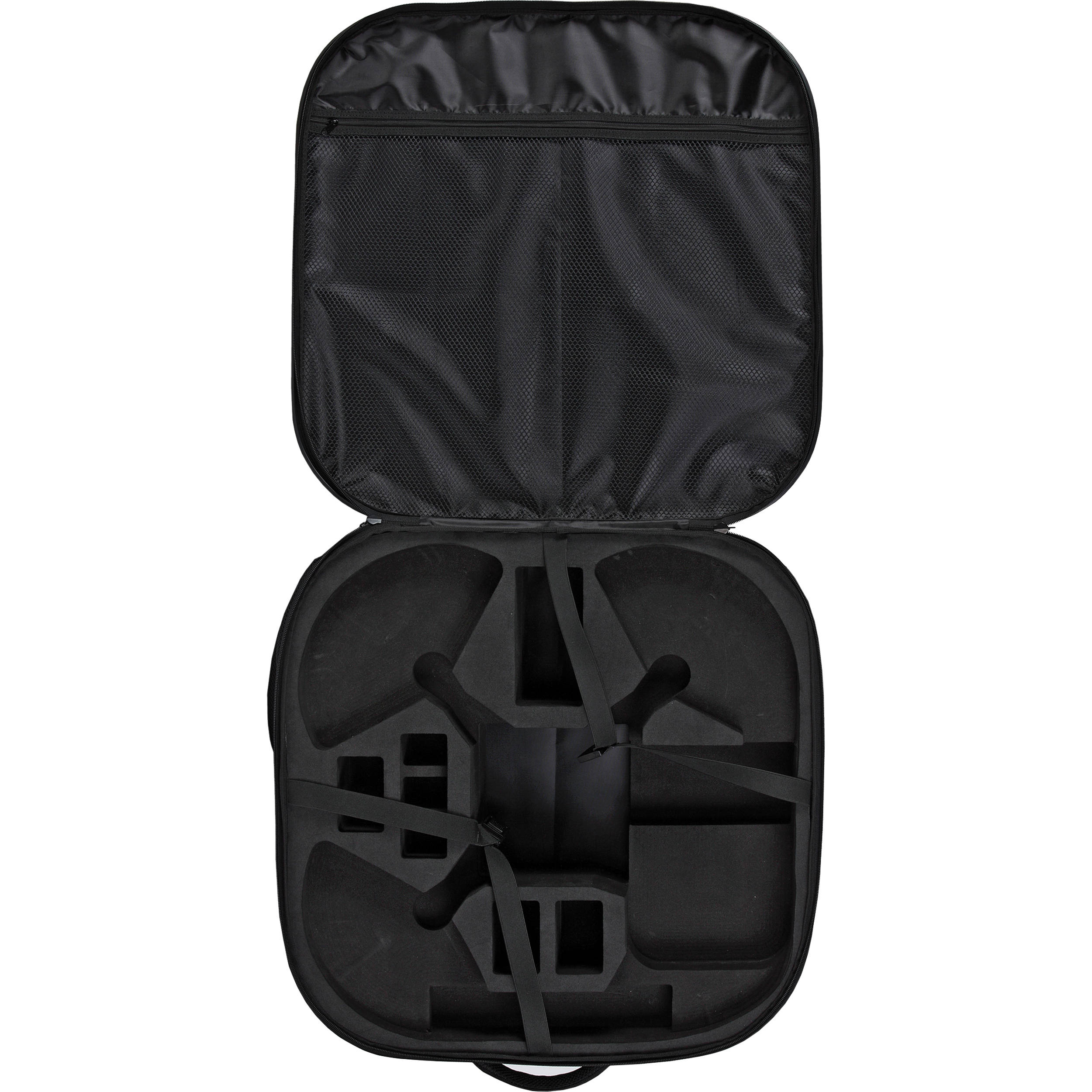 Koozam PHANTOM-BG-BP-CF Carbon Fiber Light Backpack for DJI Phantom 1 /  Phantom 2 / Phantom 3 with Prop Guards