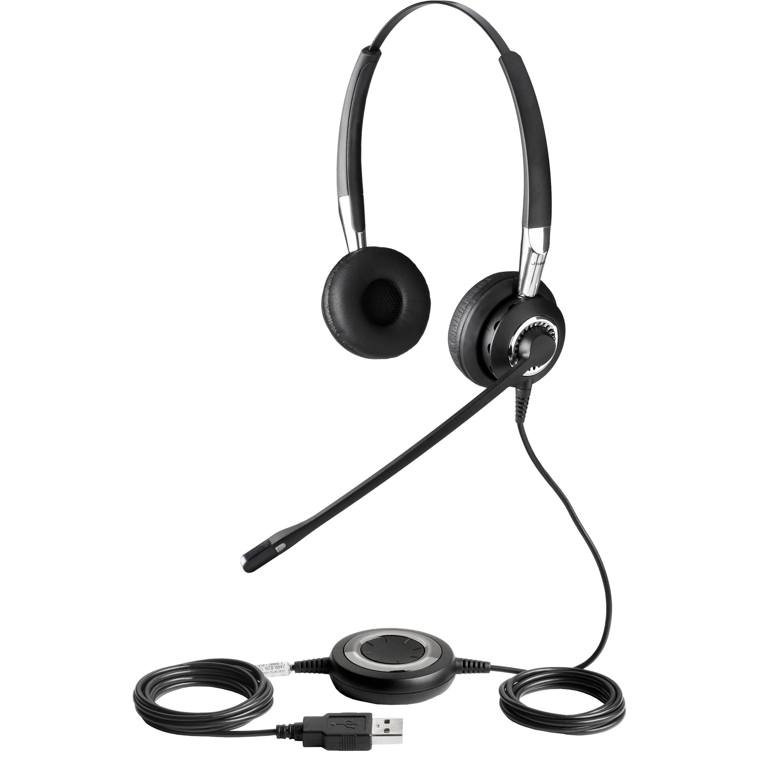 Jabra Biz 2400 Usb Duo Headset 2499 823 105 B H Photo Video