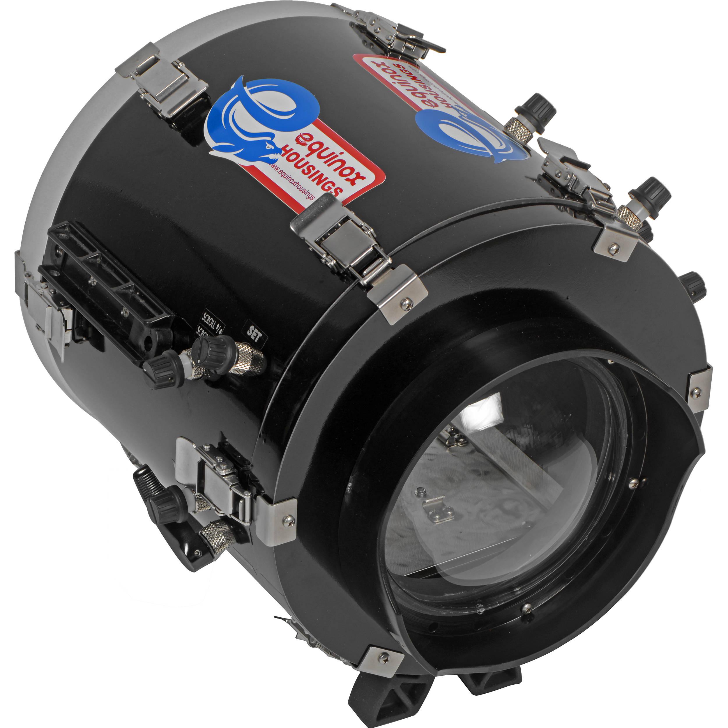 Equinox Underwater Housing for Canon EOS C100 Mark II Cinema Camera and  16-35mm Lens