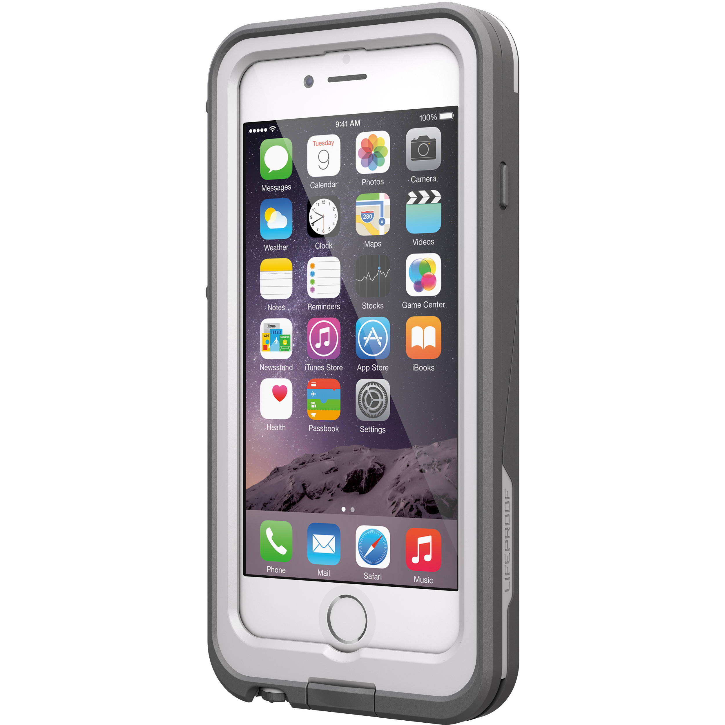 quality design 65e4f bb3c4 LifeProof frē Power 2600mAh Battery Case for iPhone 6 (White/Gray)