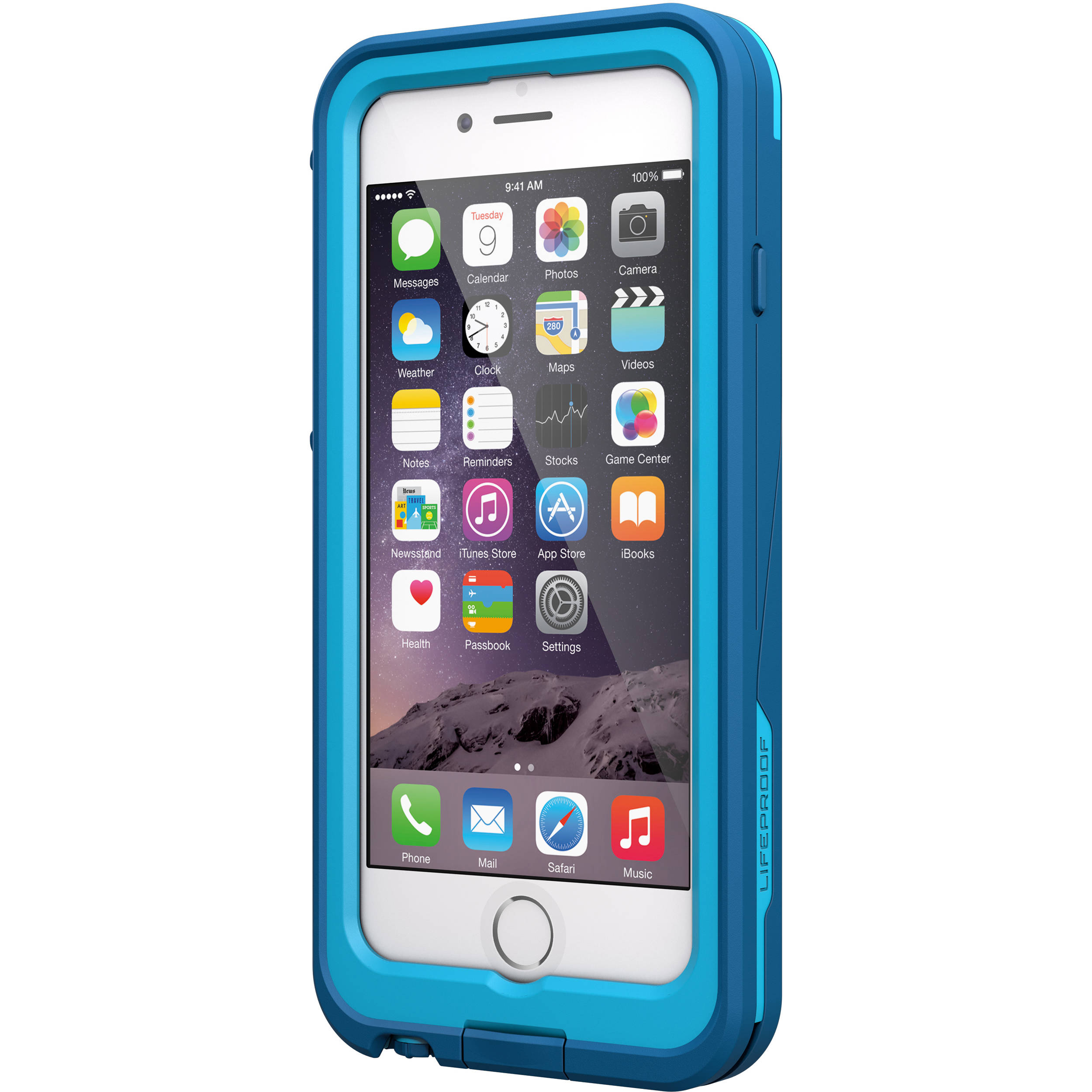 online store 4b930 7421c LifeProof frē Power 2600mAh Battery Case for iPhone 6 (Blue)