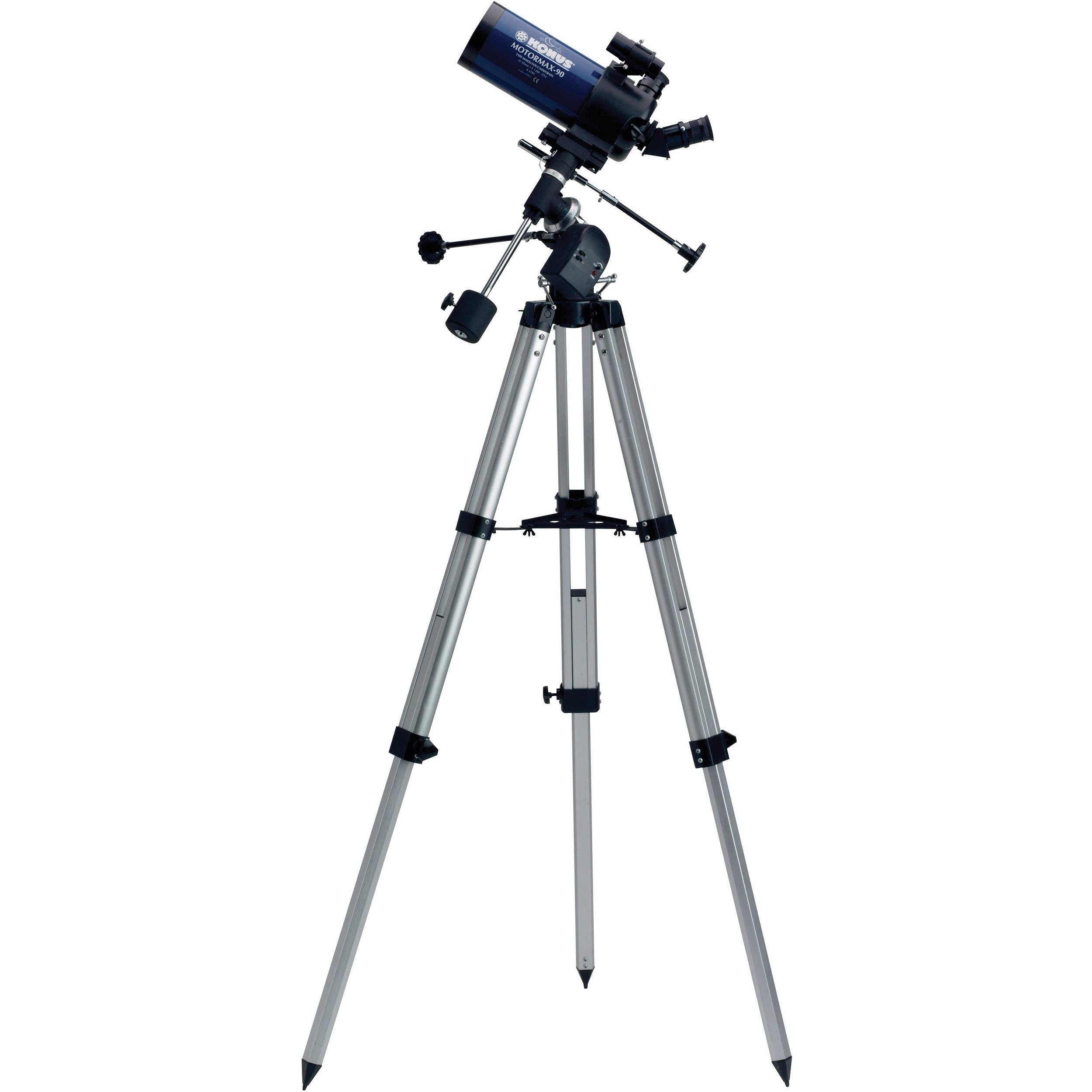 Konus MotorMax-90 90mm f/13 3 Maksutov-Cassegrain Telescope with RA Motor