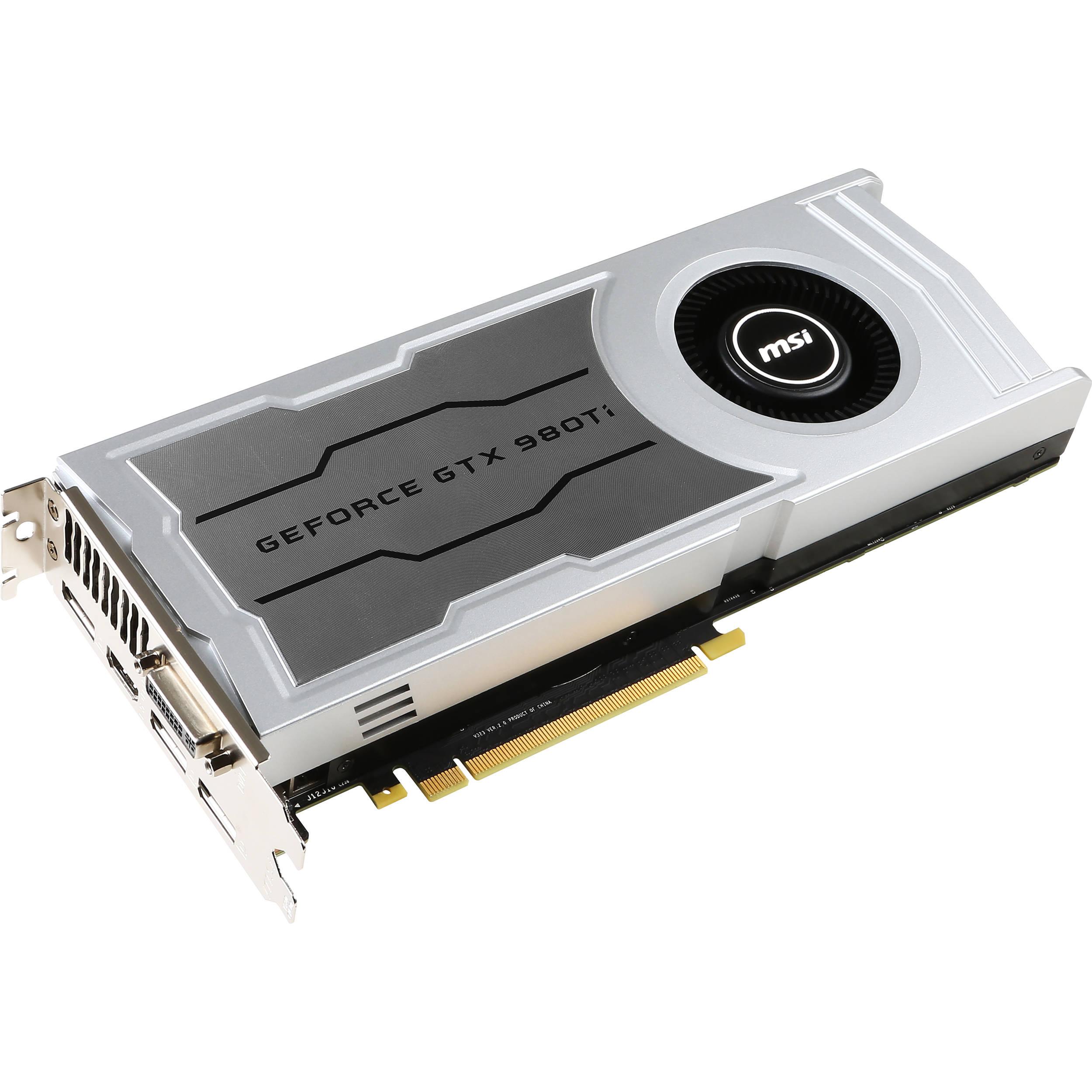 MSI GeForce GTX 980 Ti V1 Graphics Card