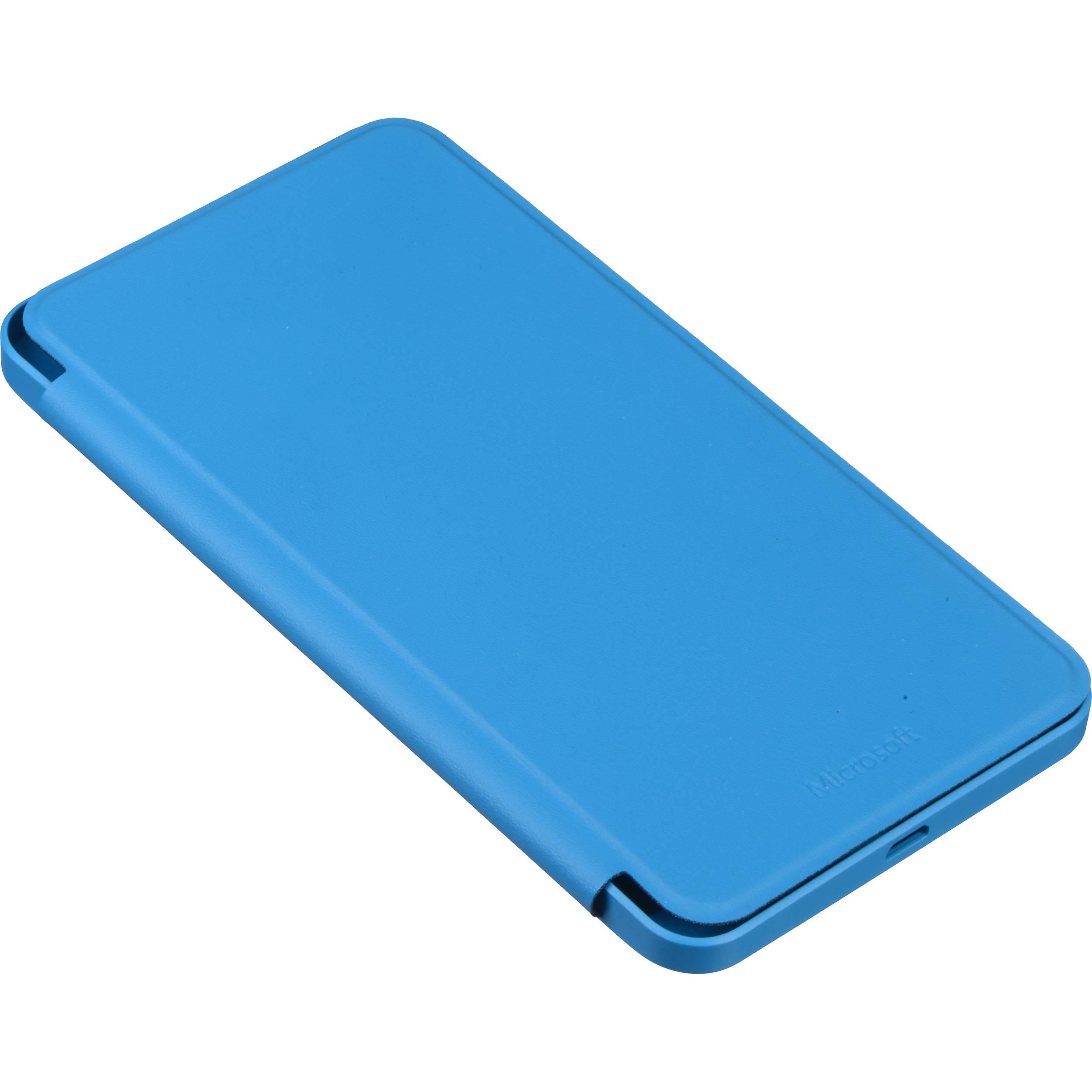 low priced a19e2 06b27 Microsoft Flip Cover Case for Lumia 640 XL (Cyan)