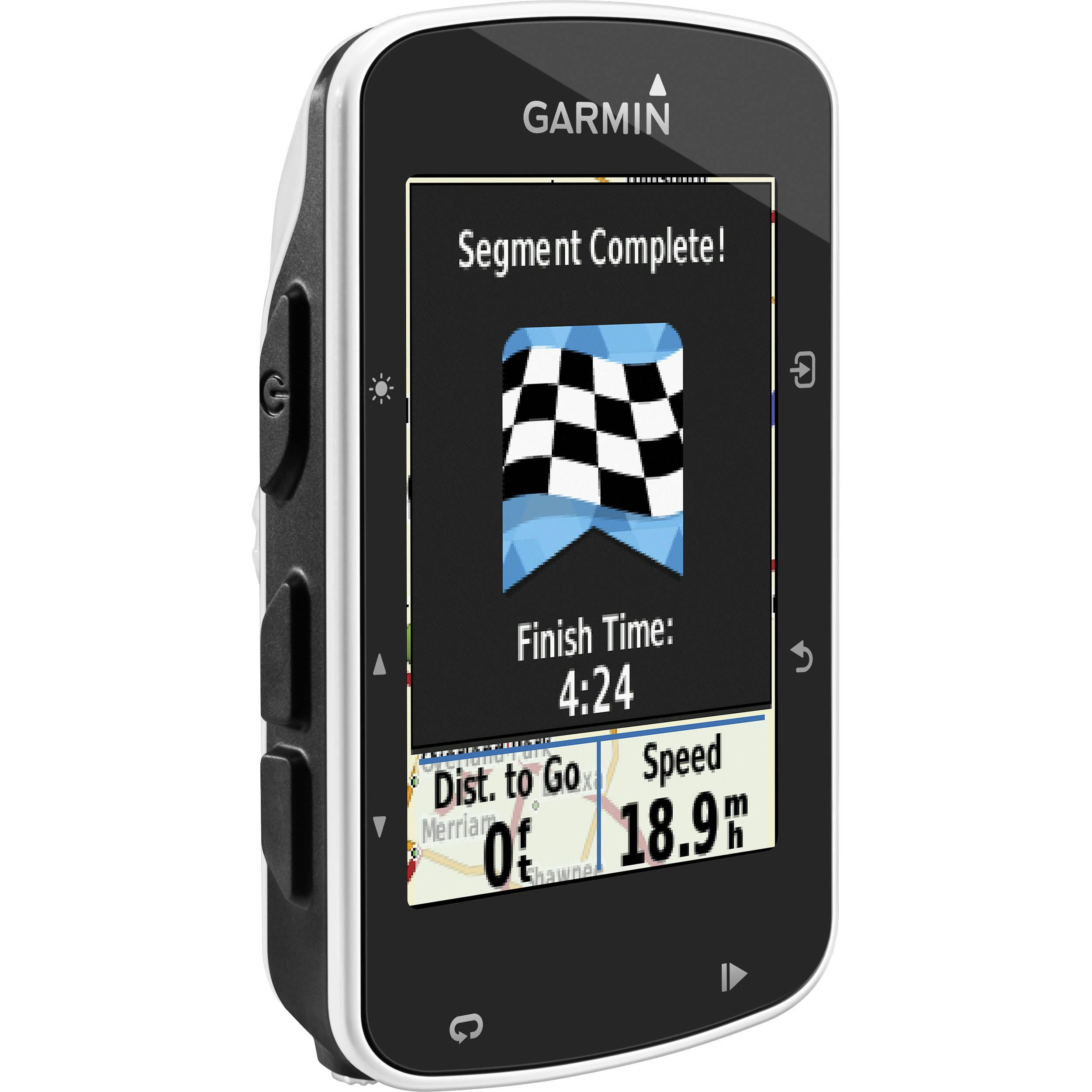 Garmin Edge 520 GPS/GLONASS Cycling Computer Bundle