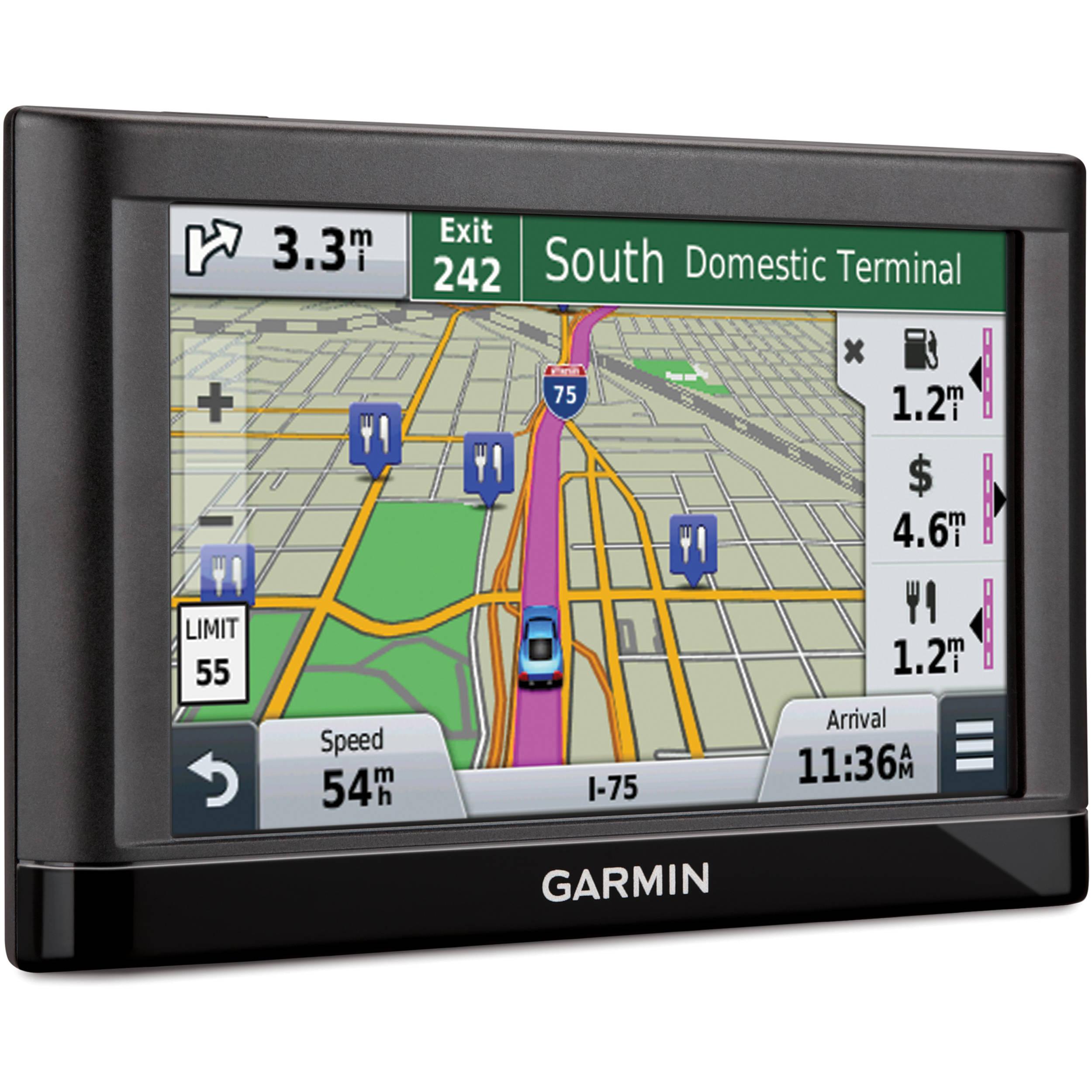 Canada Map For Garmin Nuvi Garmin Nuvi 56LM GPS With US/Canada Maps Maps 010 01198 03 B&H