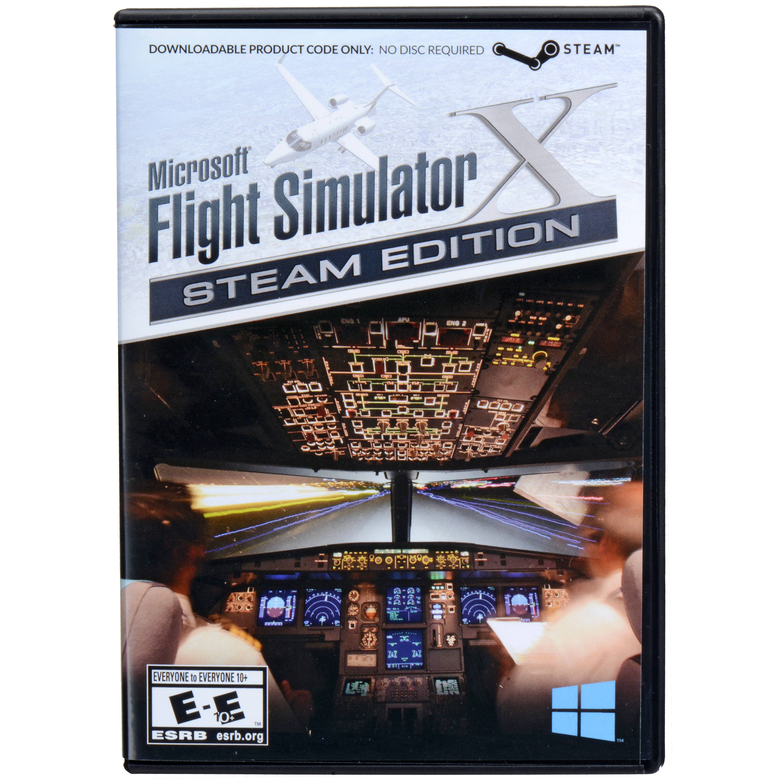Microsoft Flight Simulator X: Steam Edition (PC, Download Code)