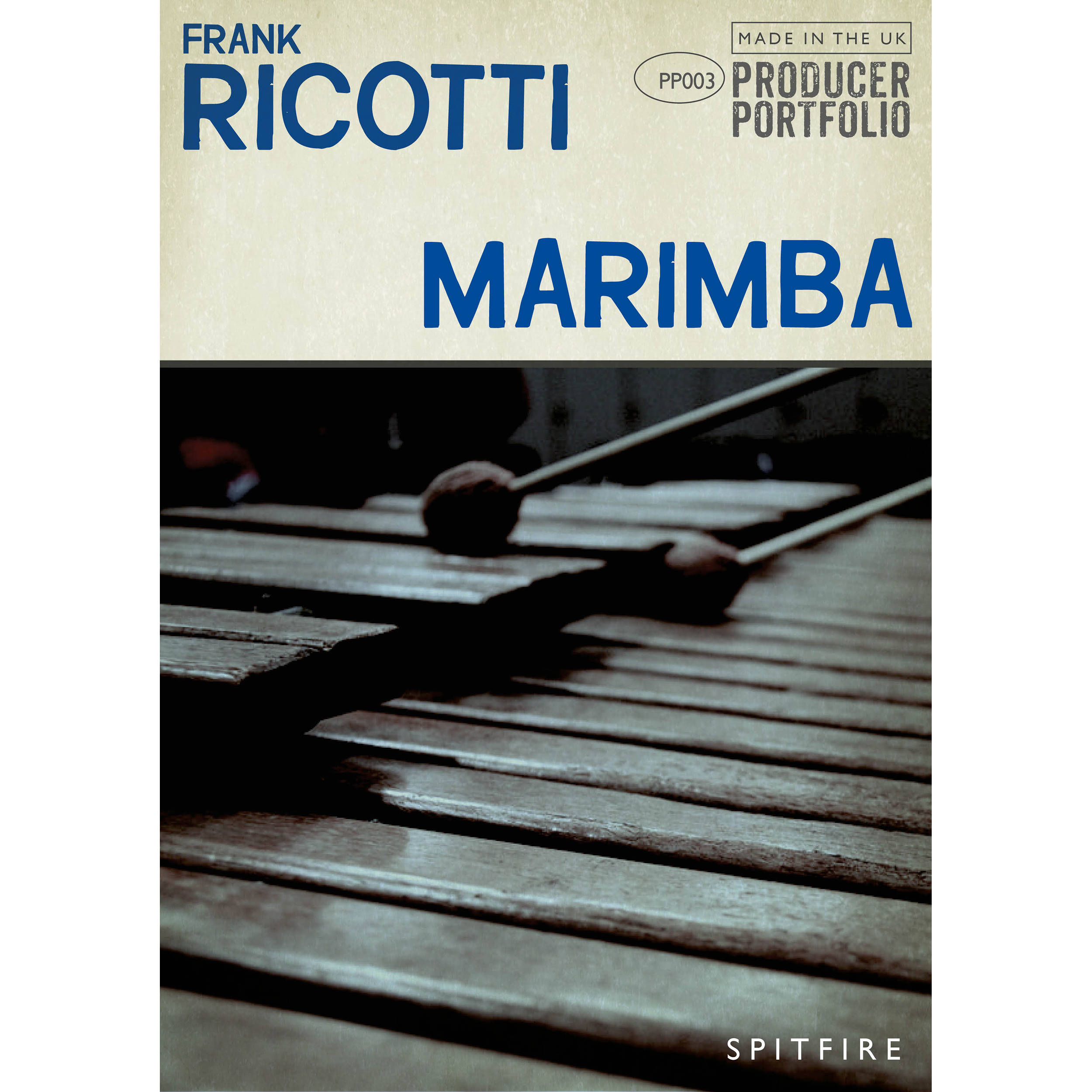 Spitfire Audio Frank Ricotti Marimba - Virtual Instrument (Download)