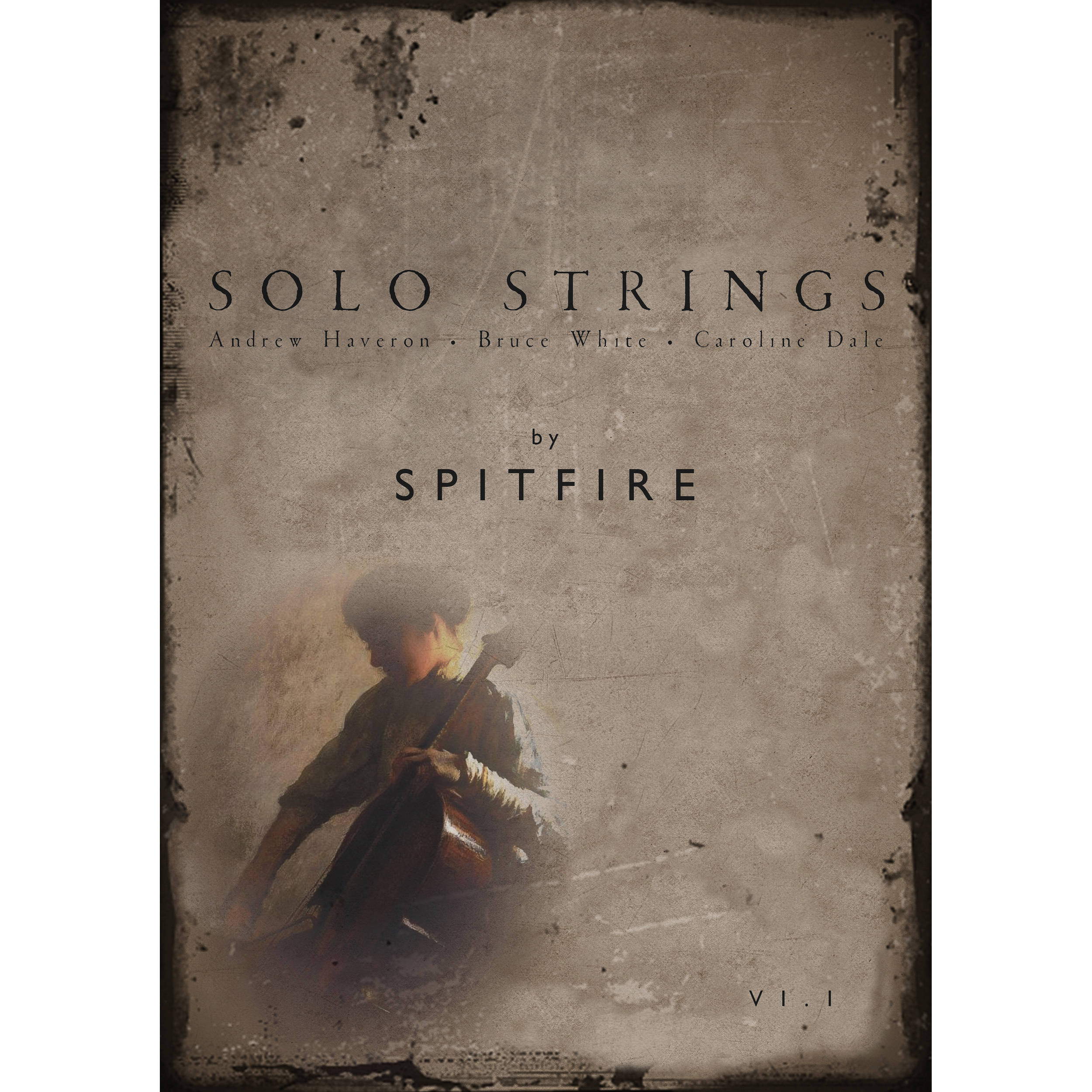 Spitfire Audio Solo Strings - Virtual Instrument (Download)