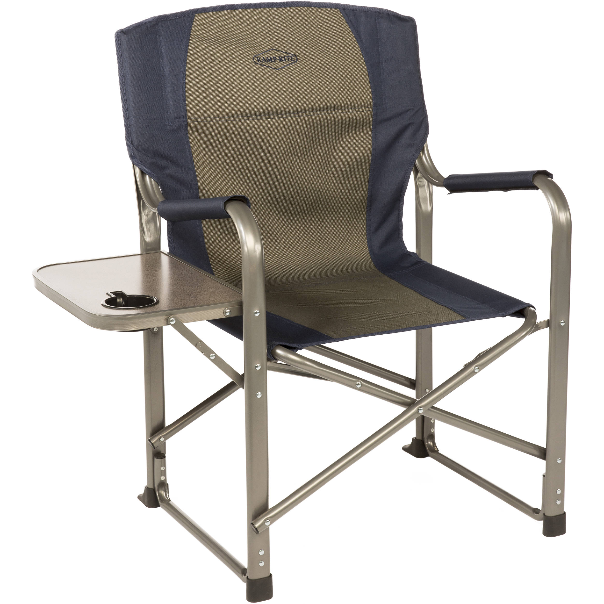 Folding Directors Chair With Side Table.Kamp Rite Folding Director S Chair With Side Table