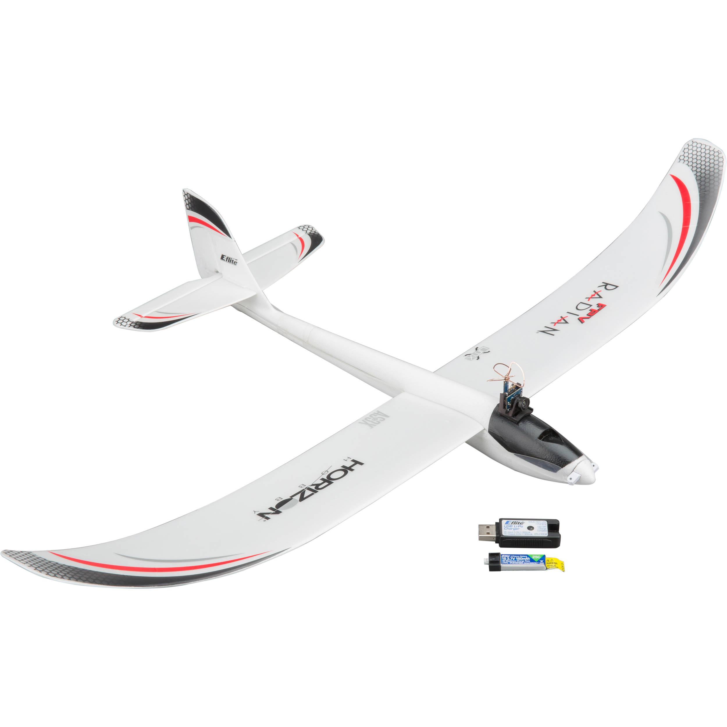 E-flite UMX FPV Radian BNF RC Airplane (No Headset)