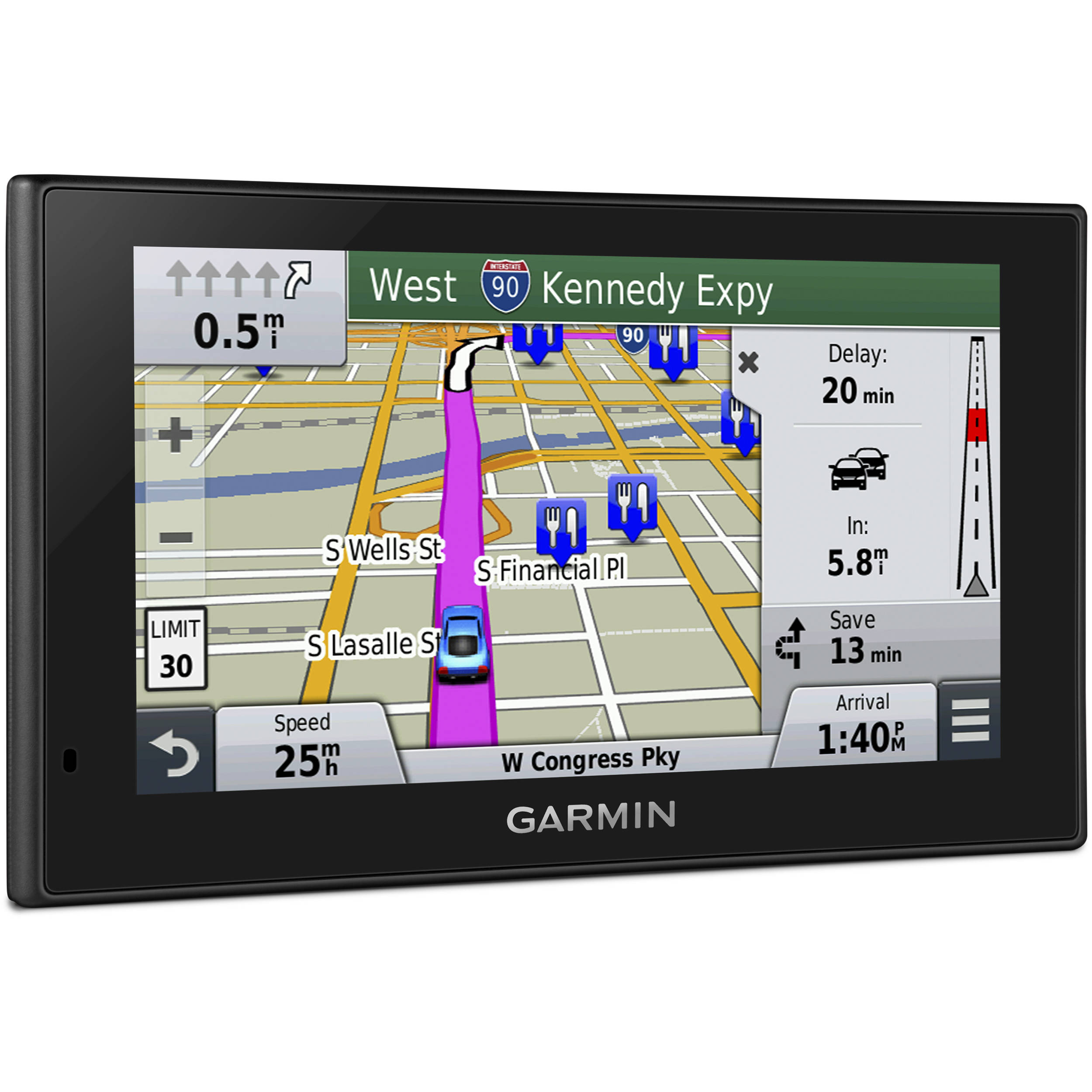 How To Update Garmin Nuvi >> Garmin Nuvi 2639lmt Gps With North America Maps 010 01188 03 B H